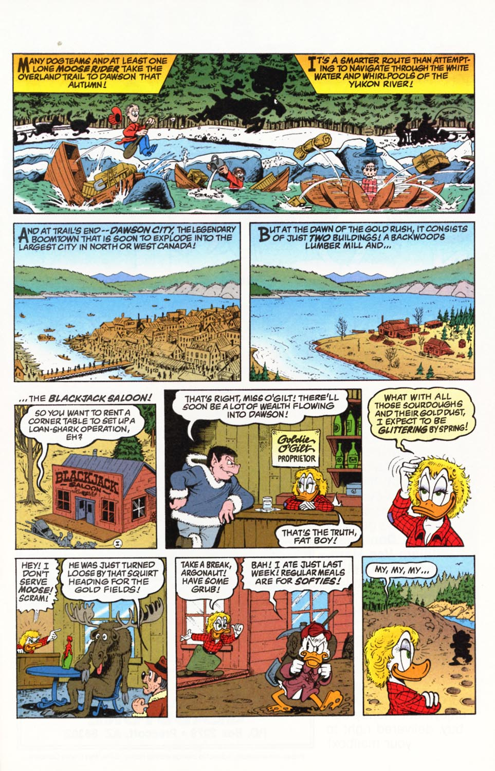 Uncle Scrooge (1953) Issue #292 #292 - English 8