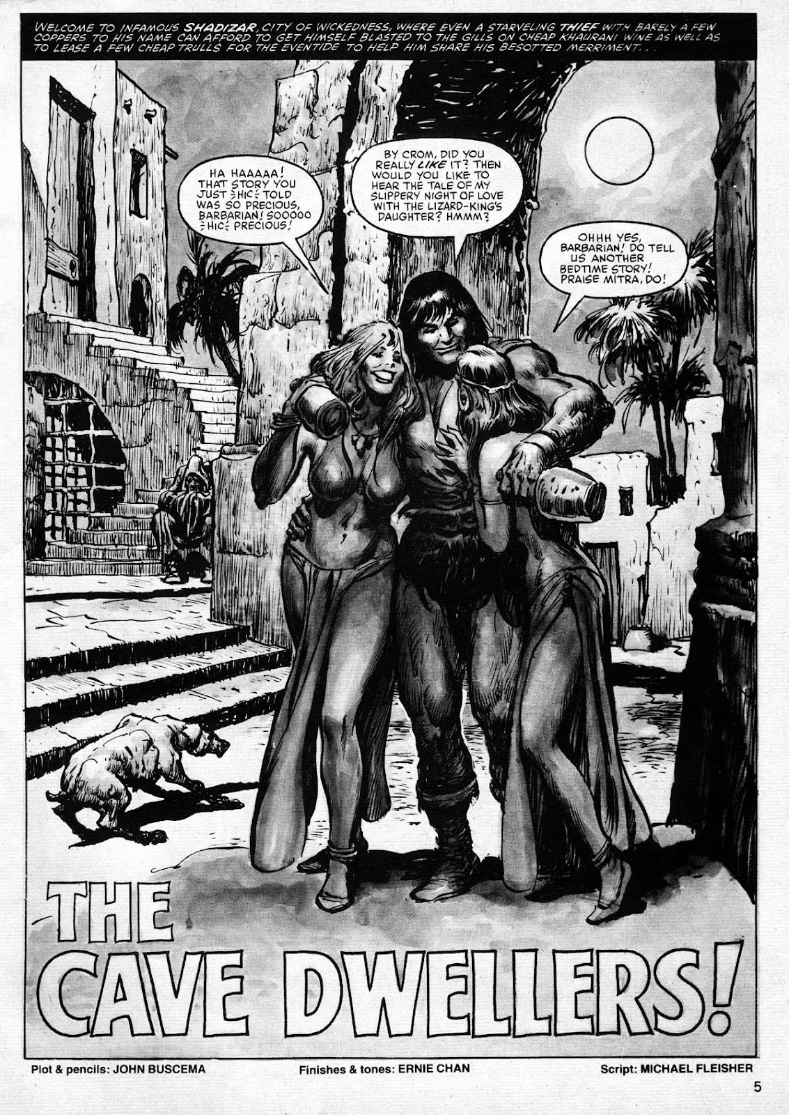 The Savage Sword Of Conan Issue #77 #78 - English 5