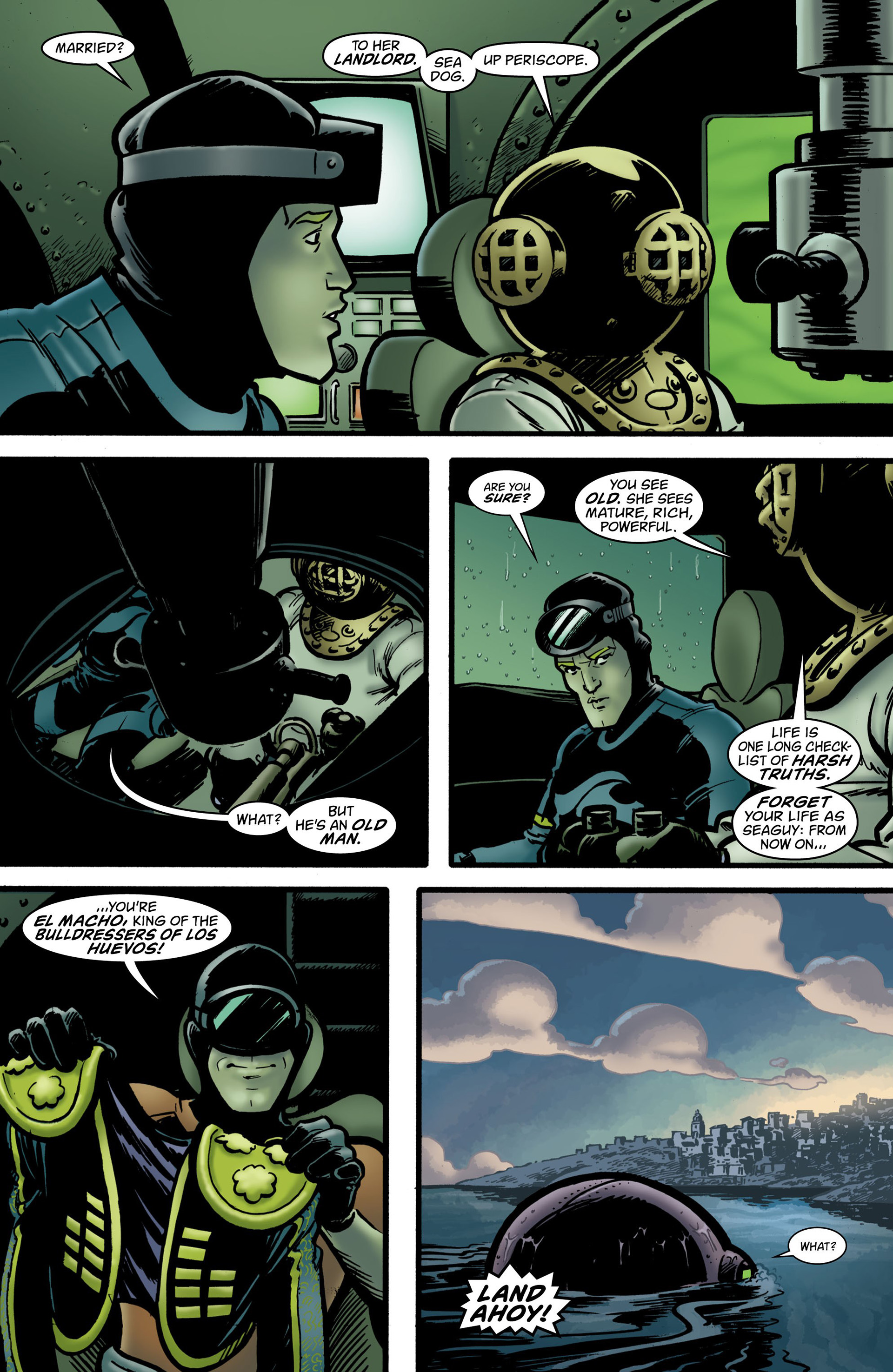 Read online Seaguy: The Slaves of Mickey Eye comic -  Issue #2 - 10