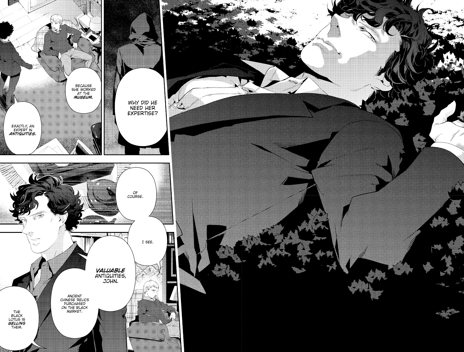 Sherlock: The Blind Banker Issue #5 #5 - English 6