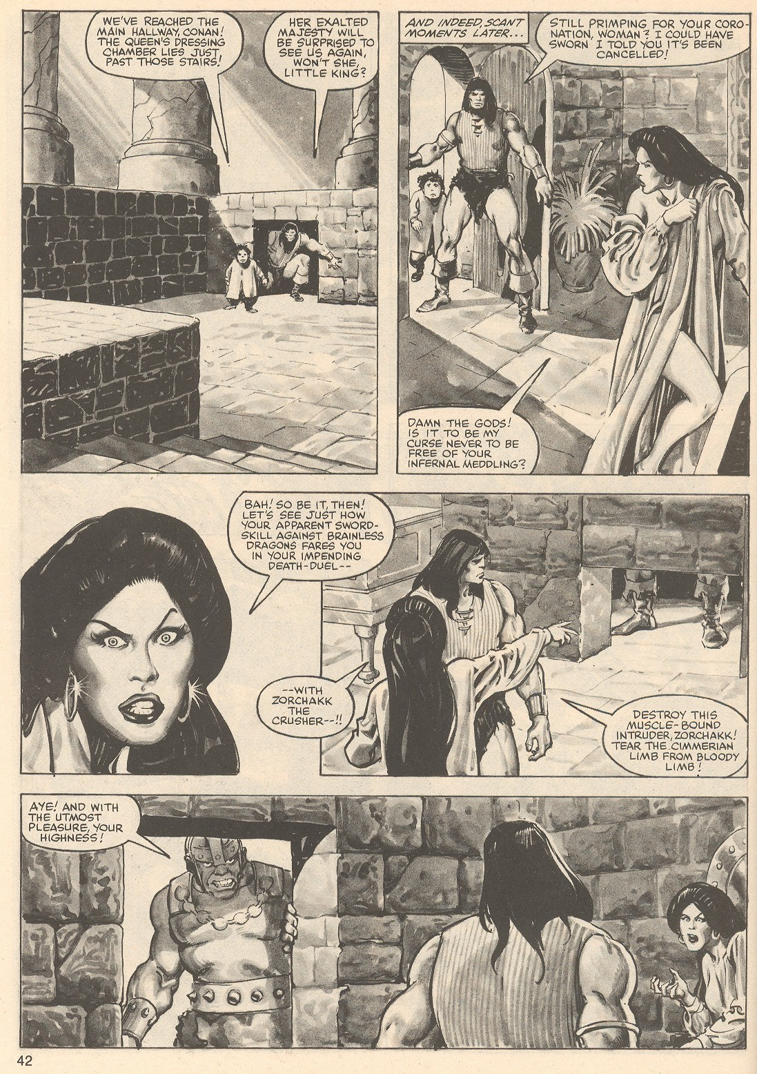 The Savage Sword Of Conan Issue #76 #77 - English 42