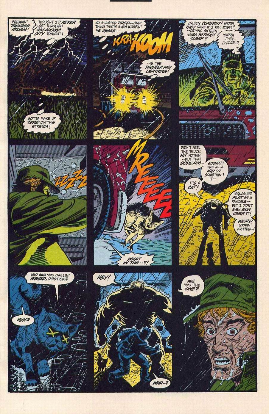 Read online Secret Defenders comic -  Issue #4 - 2