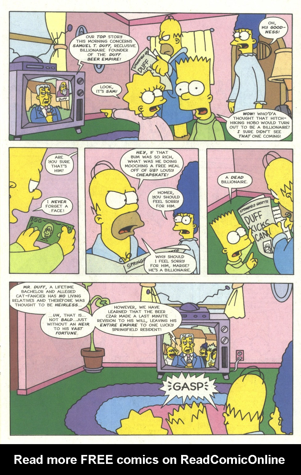Read online Simpsons Comics comic -  Issue #14 - 8