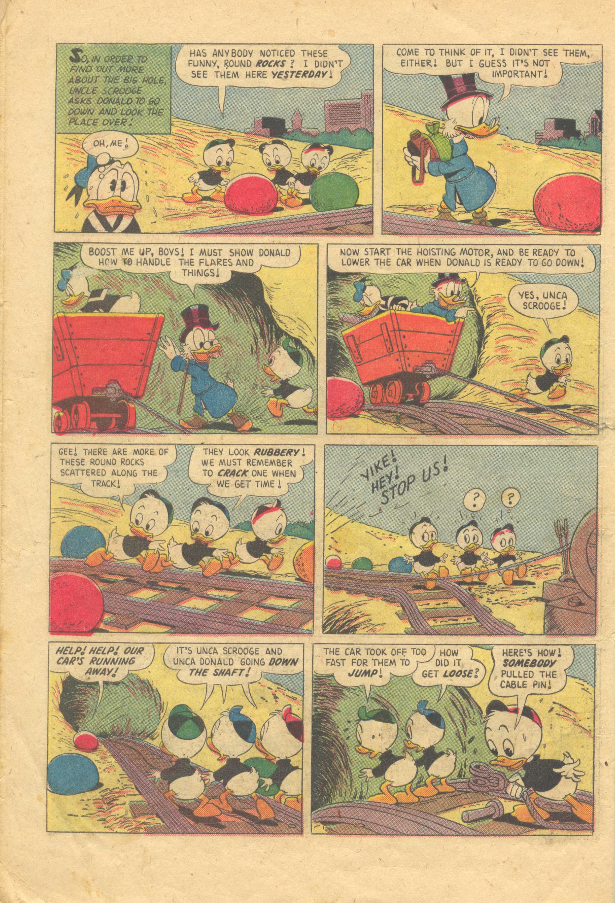 Uncle Scrooge (1953) #13 #392 - English 6