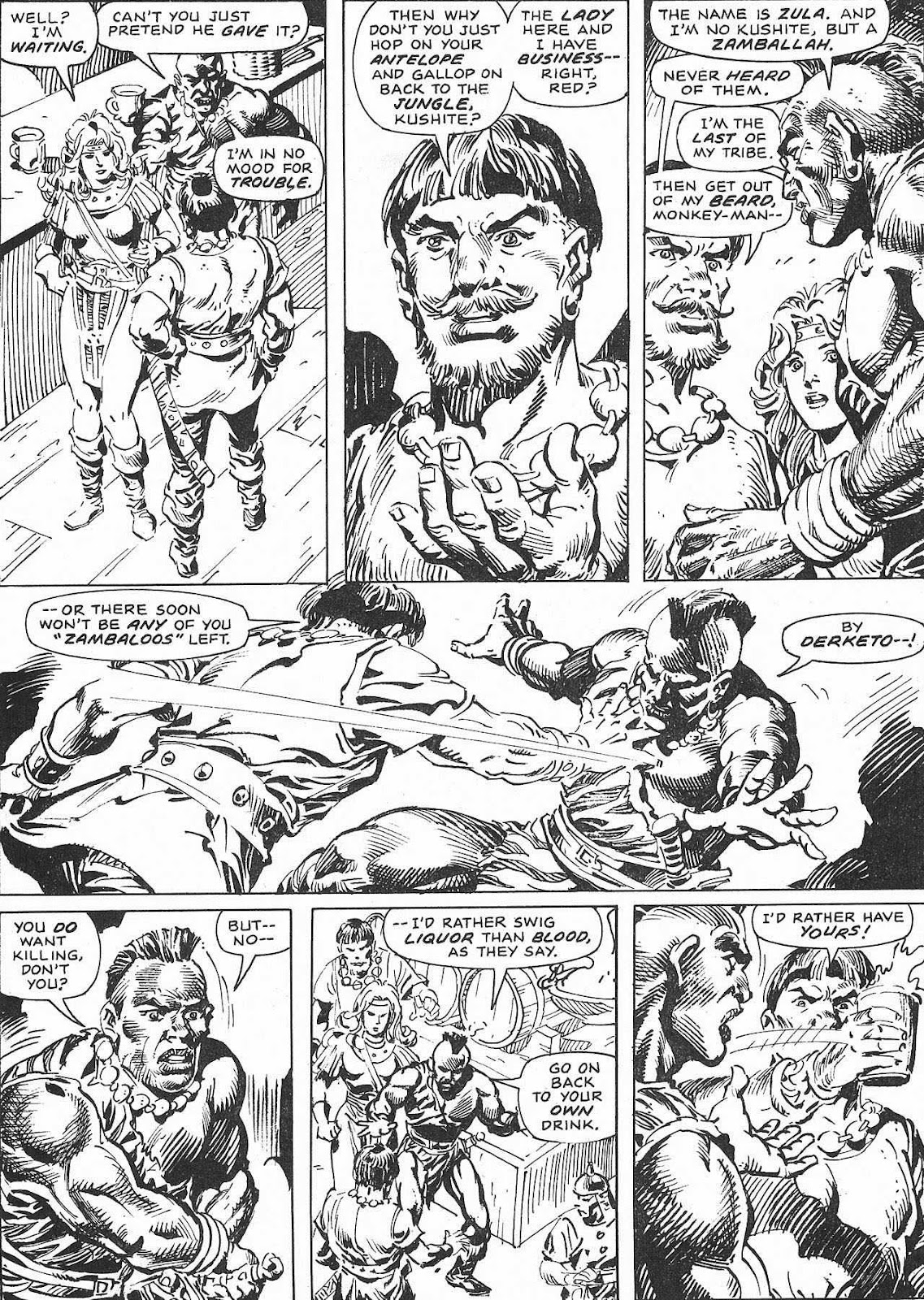 The Savage Sword Of Conan Issue #207 #208 - English 55