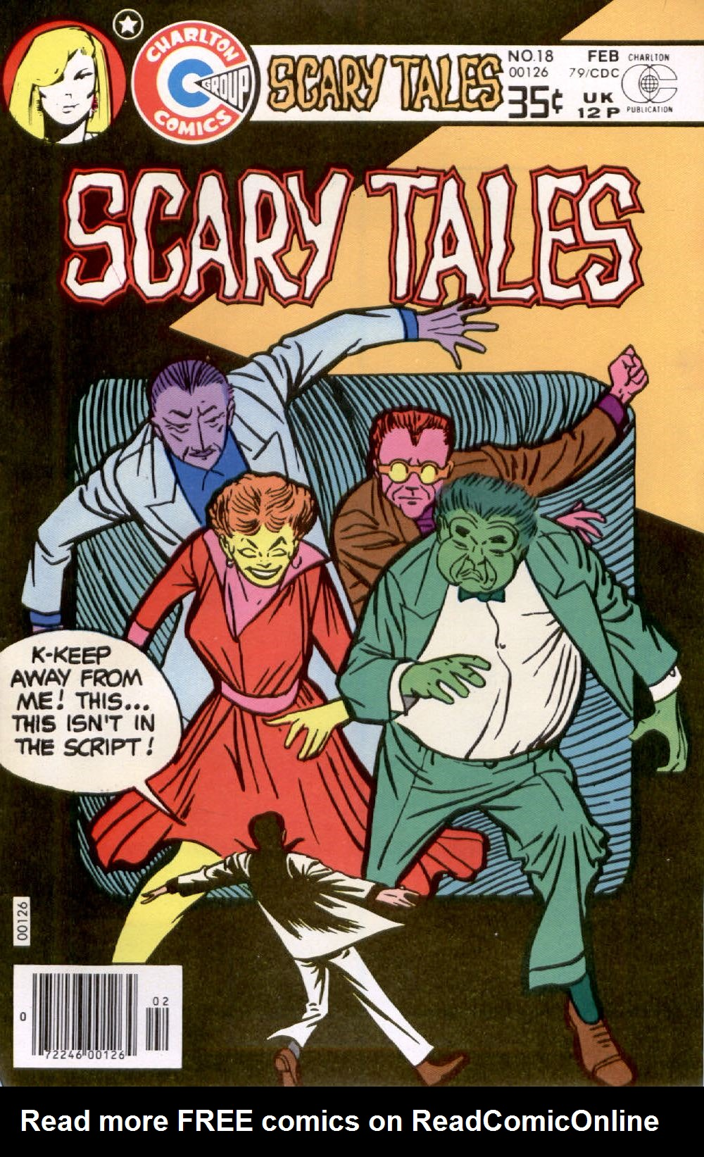 Read online Scary Tales comic -  Issue #18 - 1