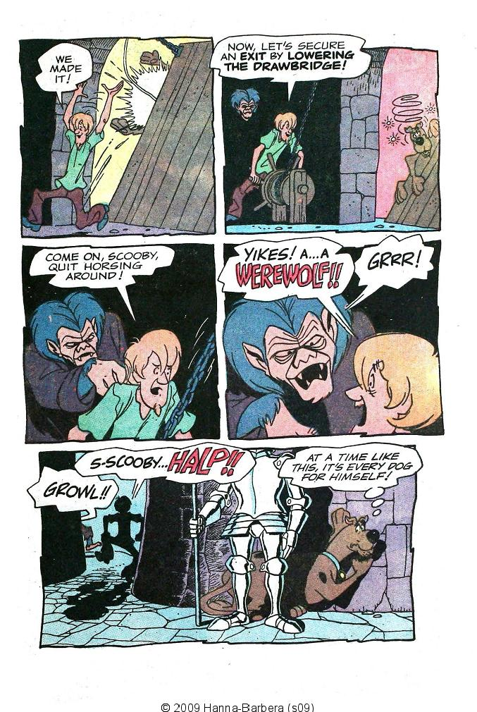 Read online Scooby-Doo... Where Are You! (1970) comic -  Issue #10 - 9