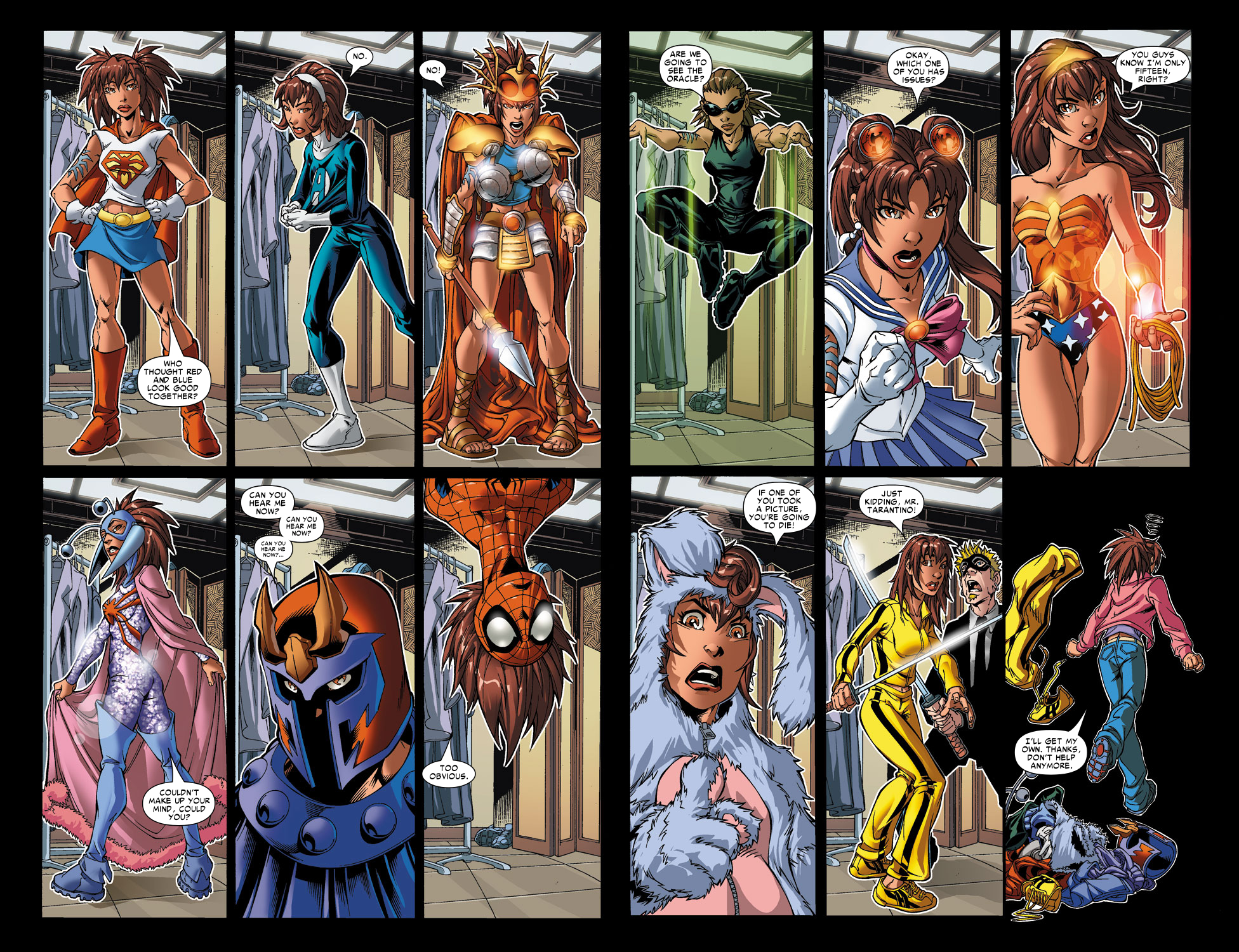 Read online Amazing Fantasy (2004) comic -  Issue #6 - 7