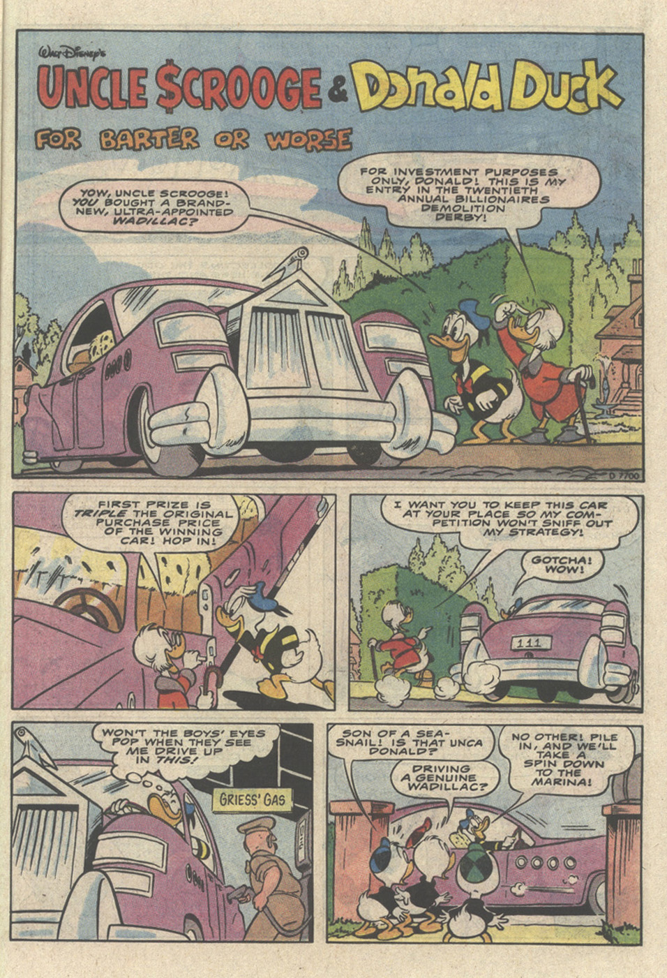 Uncle Scrooge (1953) Issue #237 #237 - English 21