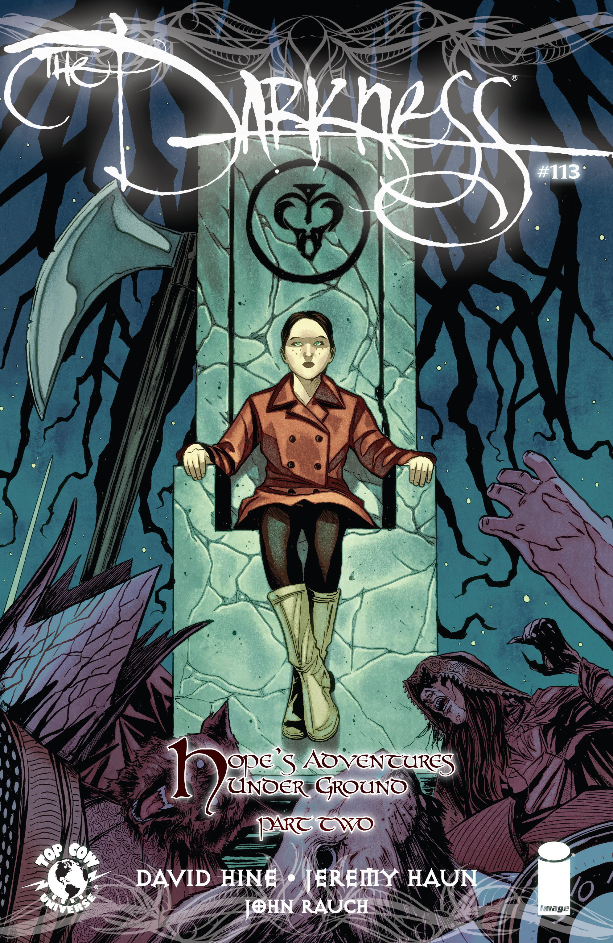 Read online The Darkness (2007) comic -  Issue #113 - 1
