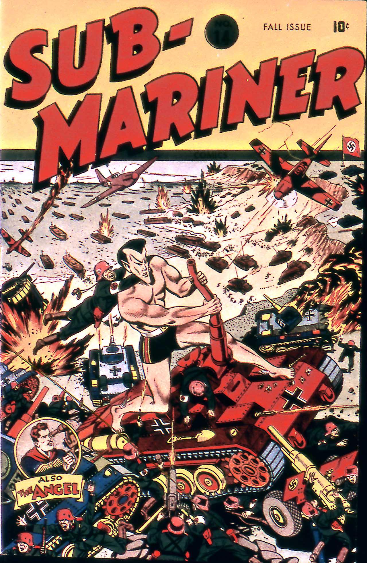 Sub-Mariner Comics 14 Page 1