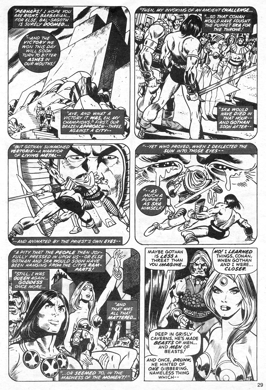 The Savage Sword Of Conan Issue #13 #14 - English 29