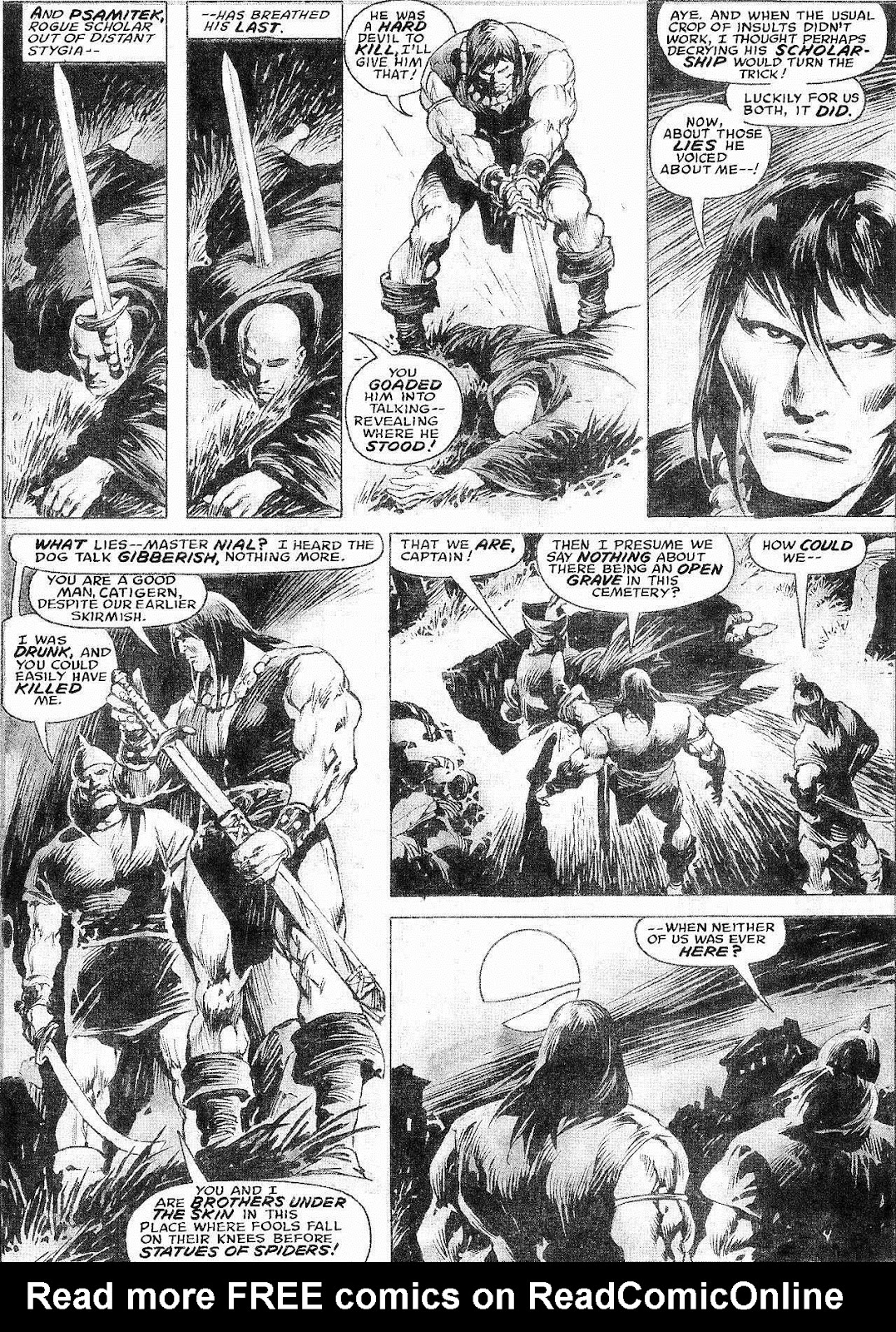 The Savage Sword Of Conan Issue #210 #211 - English 11