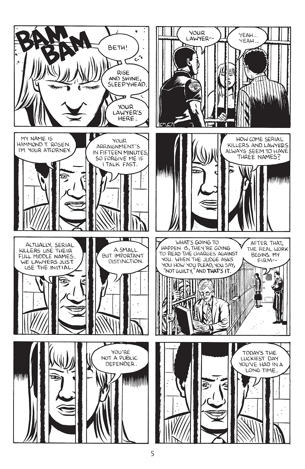 Stray Bullets Issue #28 #28 - English 7