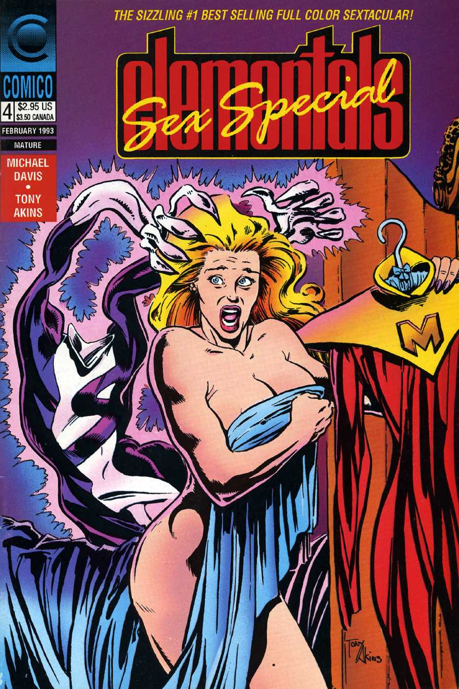 Read online Elementals Sex Special comic -  Issue #4 - 1