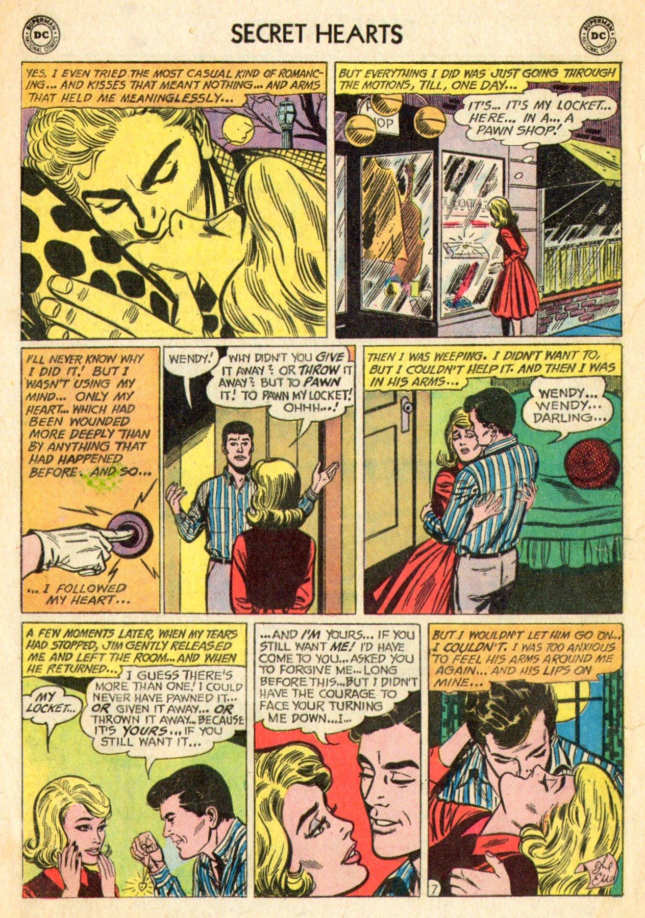 Read online Secret Hearts comic -  Issue #101 - 16
