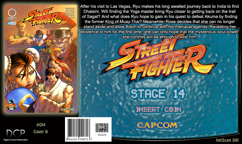 Street Fighter (2003) Issue #14 #15 - English 32