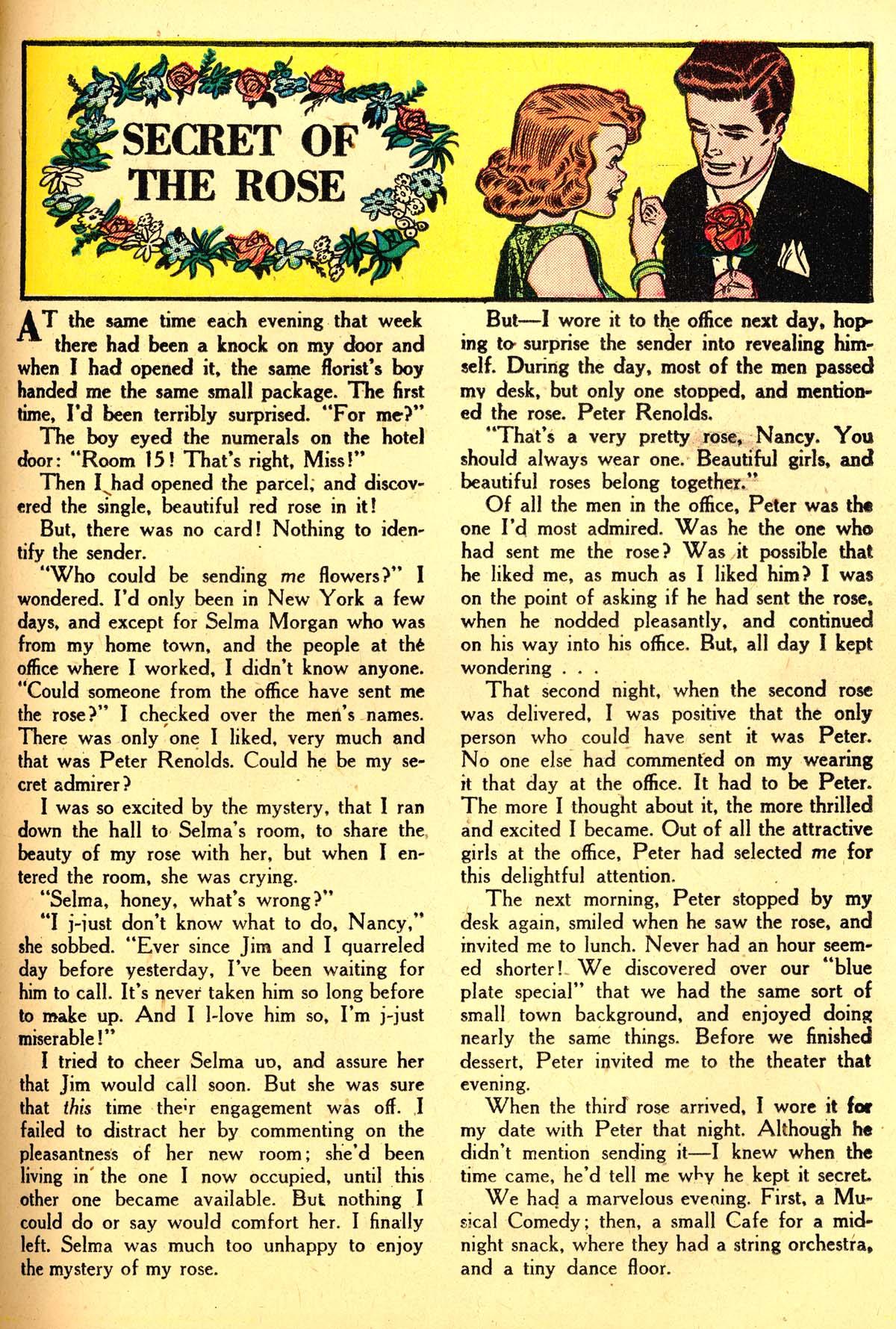 Read online Secret Hearts comic -  Issue #4 - 37