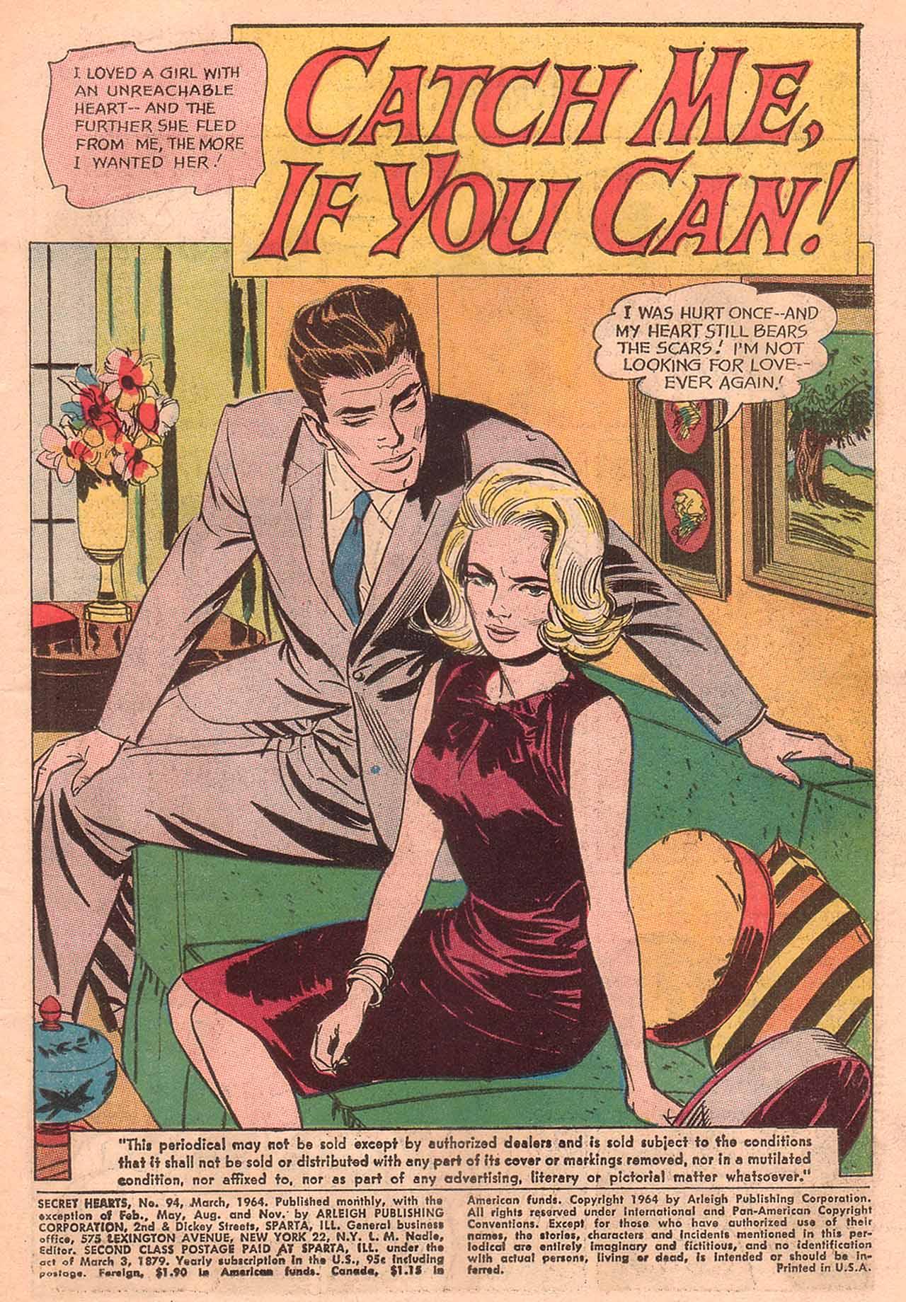 Read online Secret Hearts comic -  Issue #94 - 3