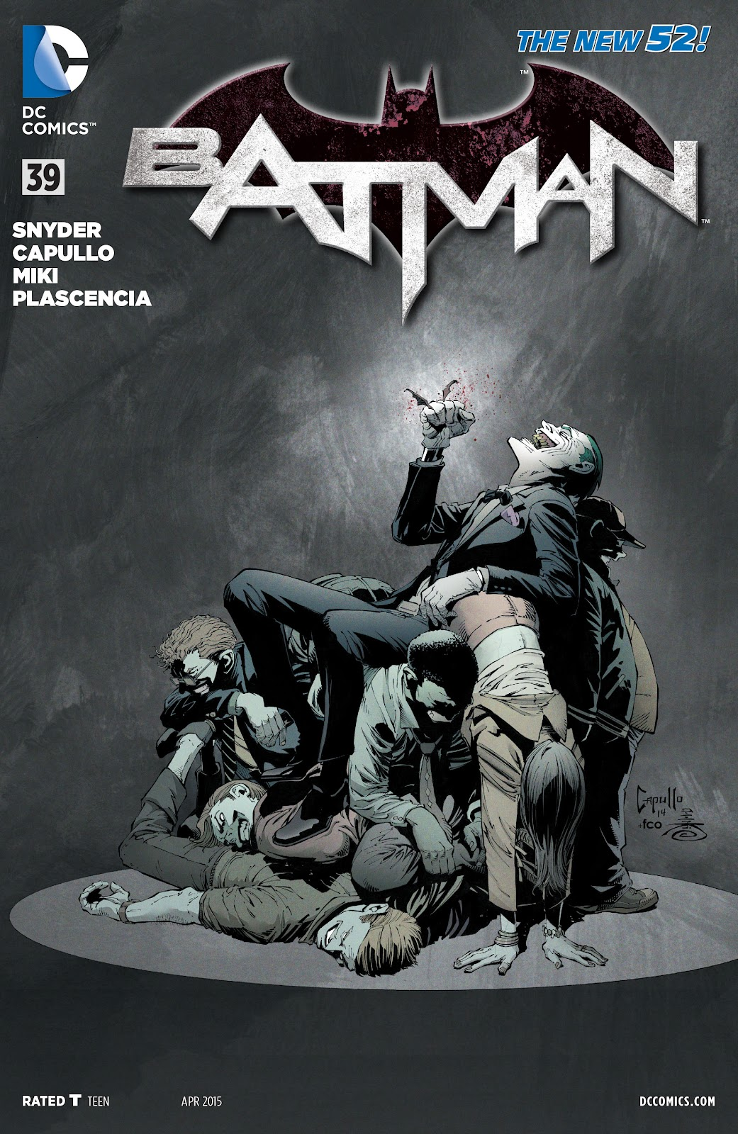 Batman (2011) Issue #39 #58 - English 1
