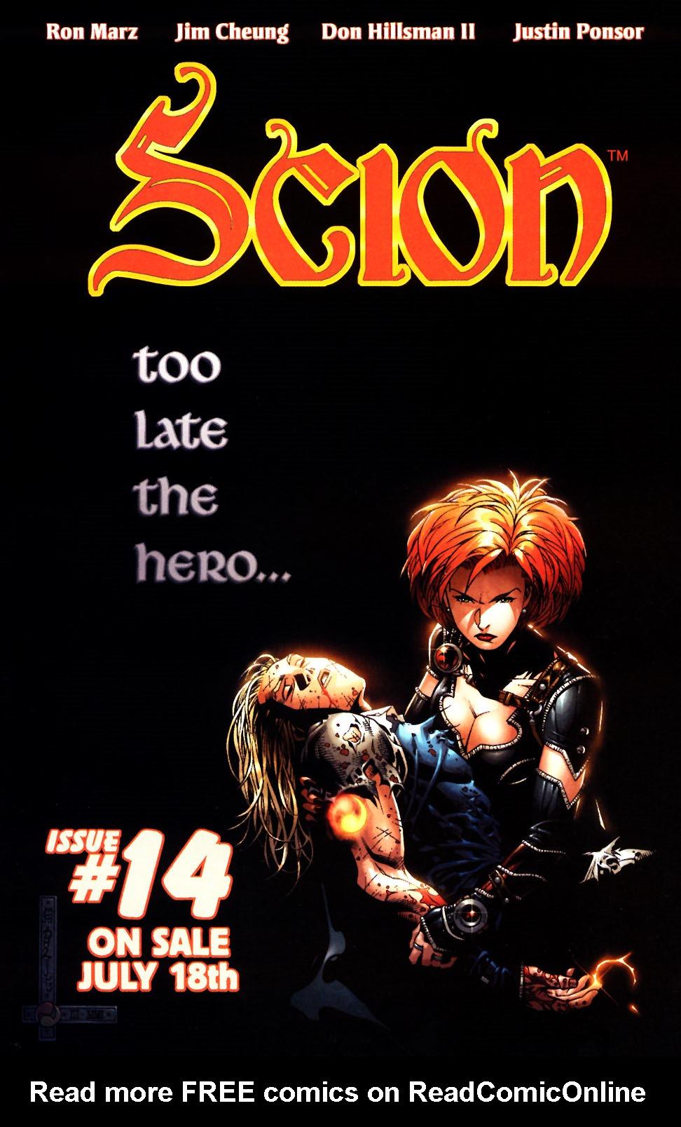 Read online Scion comic -  Issue #13 - 25