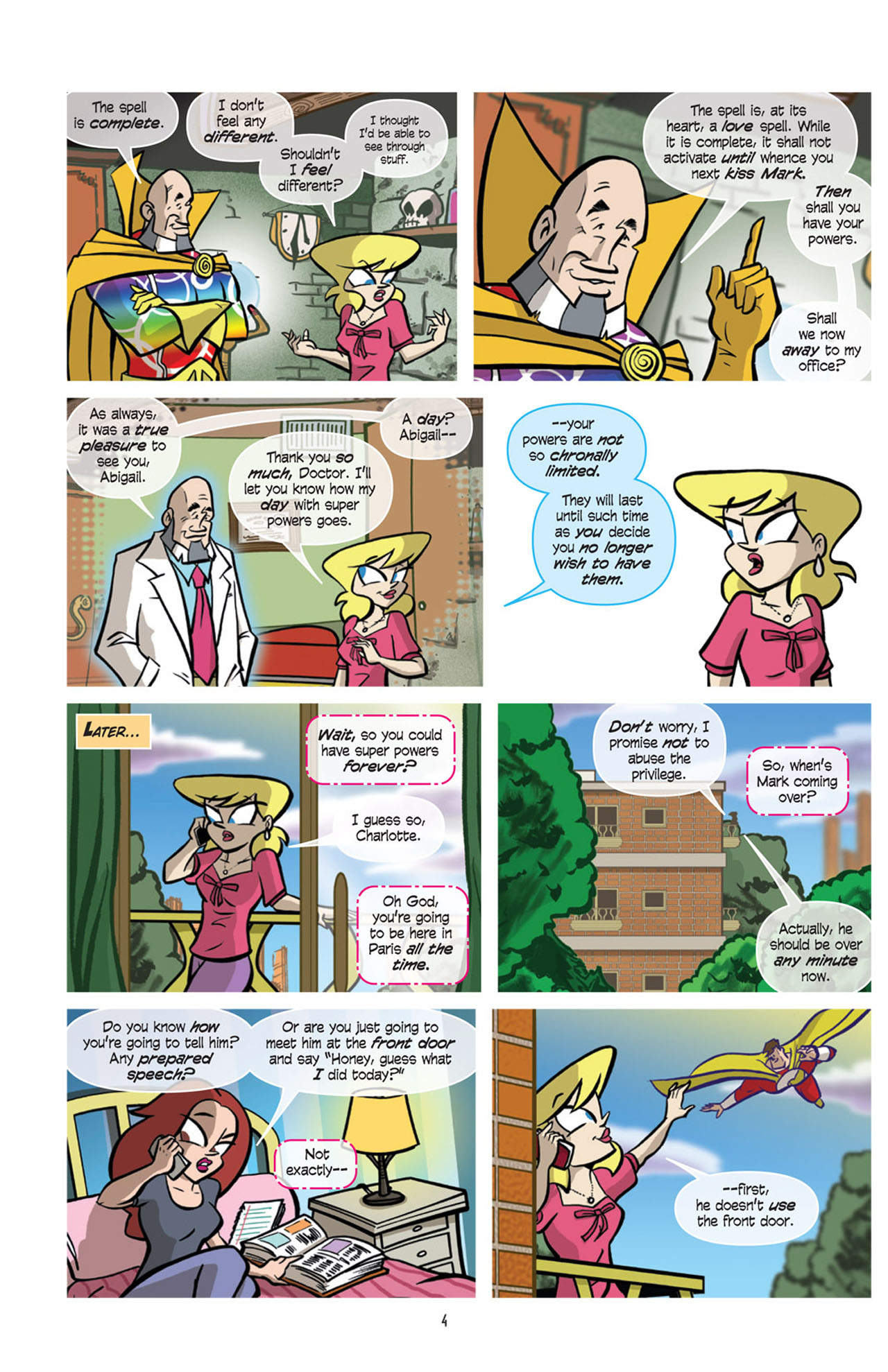 Read online Love and Capes comic -  Issue #10 - 6