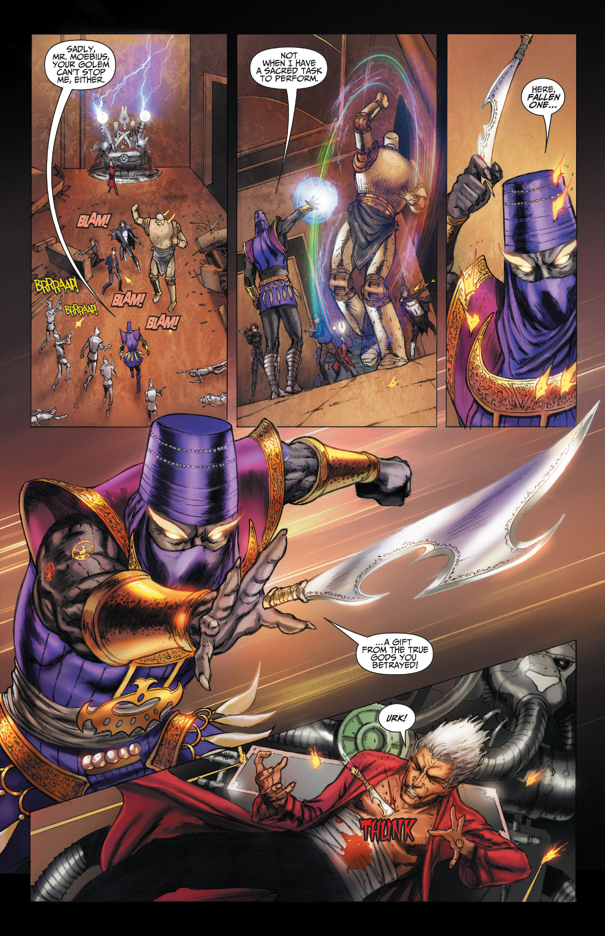 Read online The Adventures of Basil and Moebius comic -  Issue #13 - 32