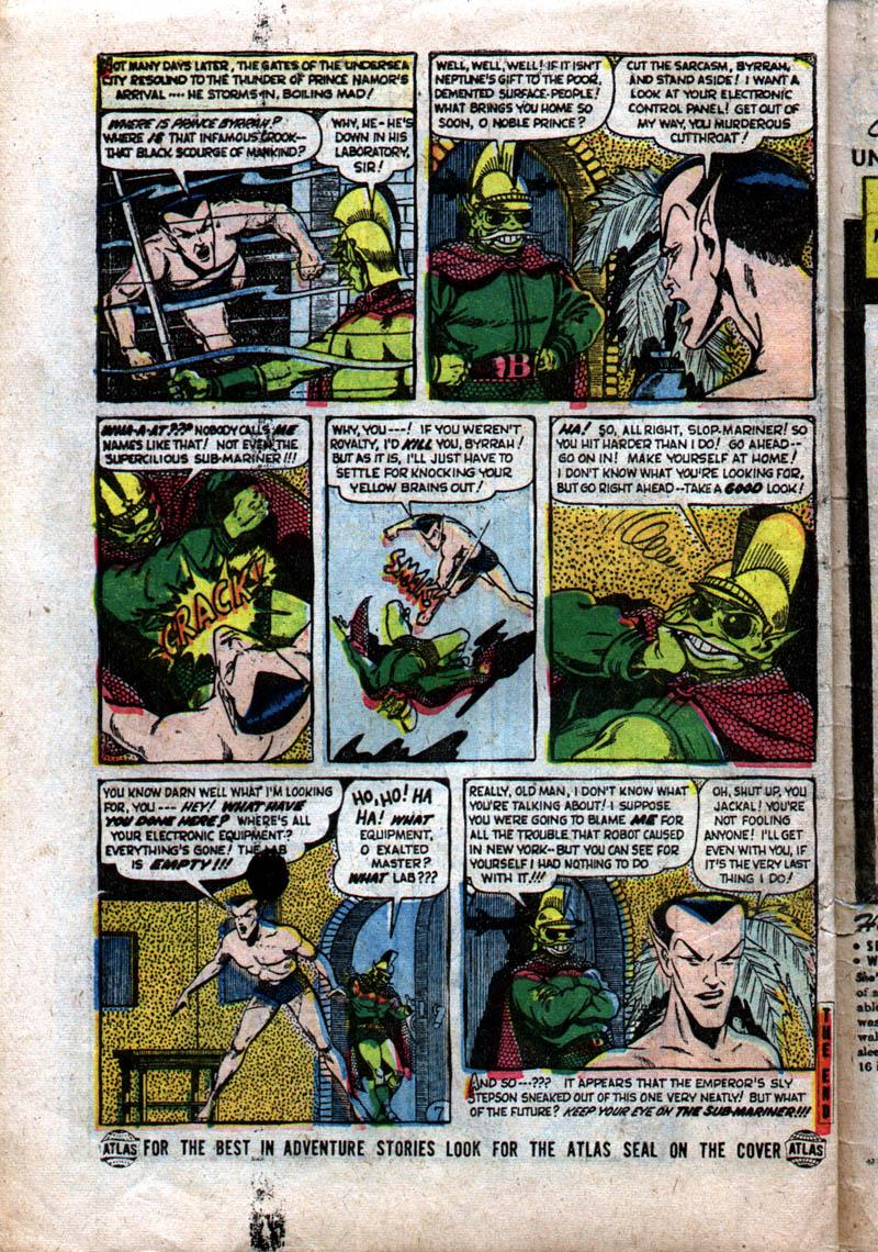 Sub-Mariner Comics #37 #37 - English 32