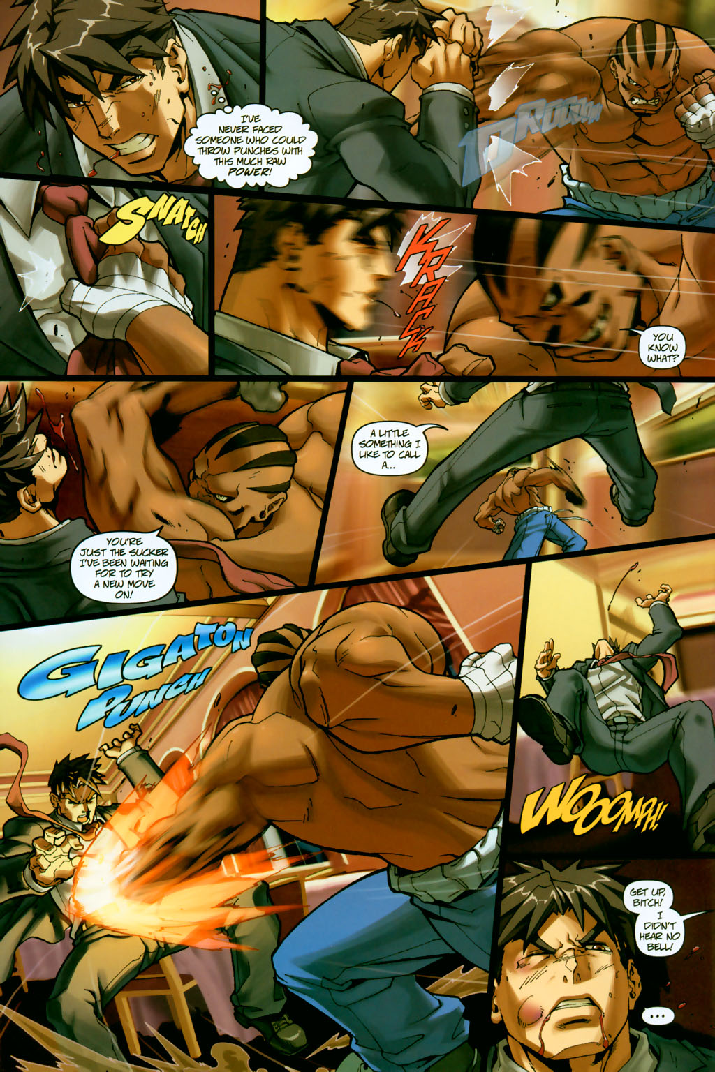 Street Fighter (2003) Issue #14 #15 - English 8