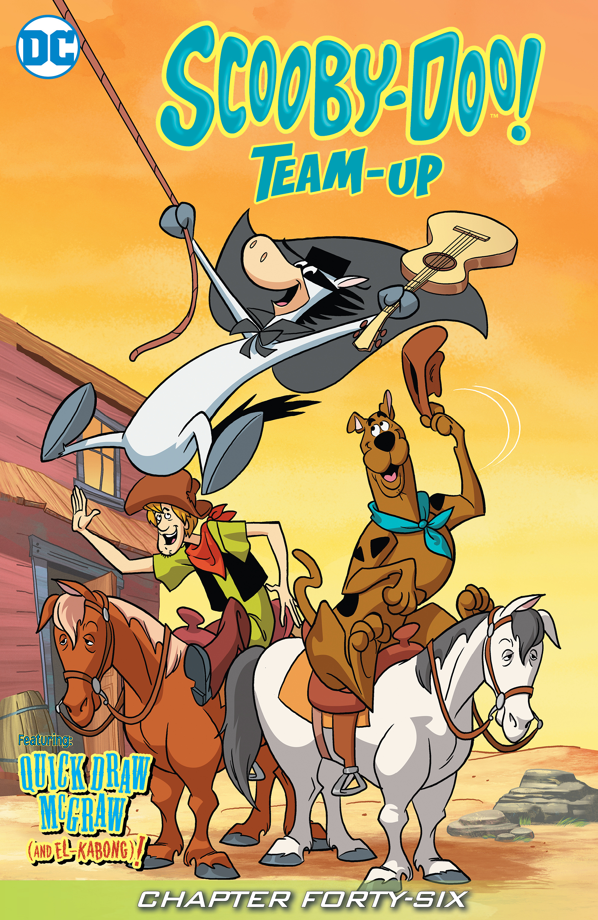 Read online Scooby-Doo! Team-Up comic -  Issue #46 - 2