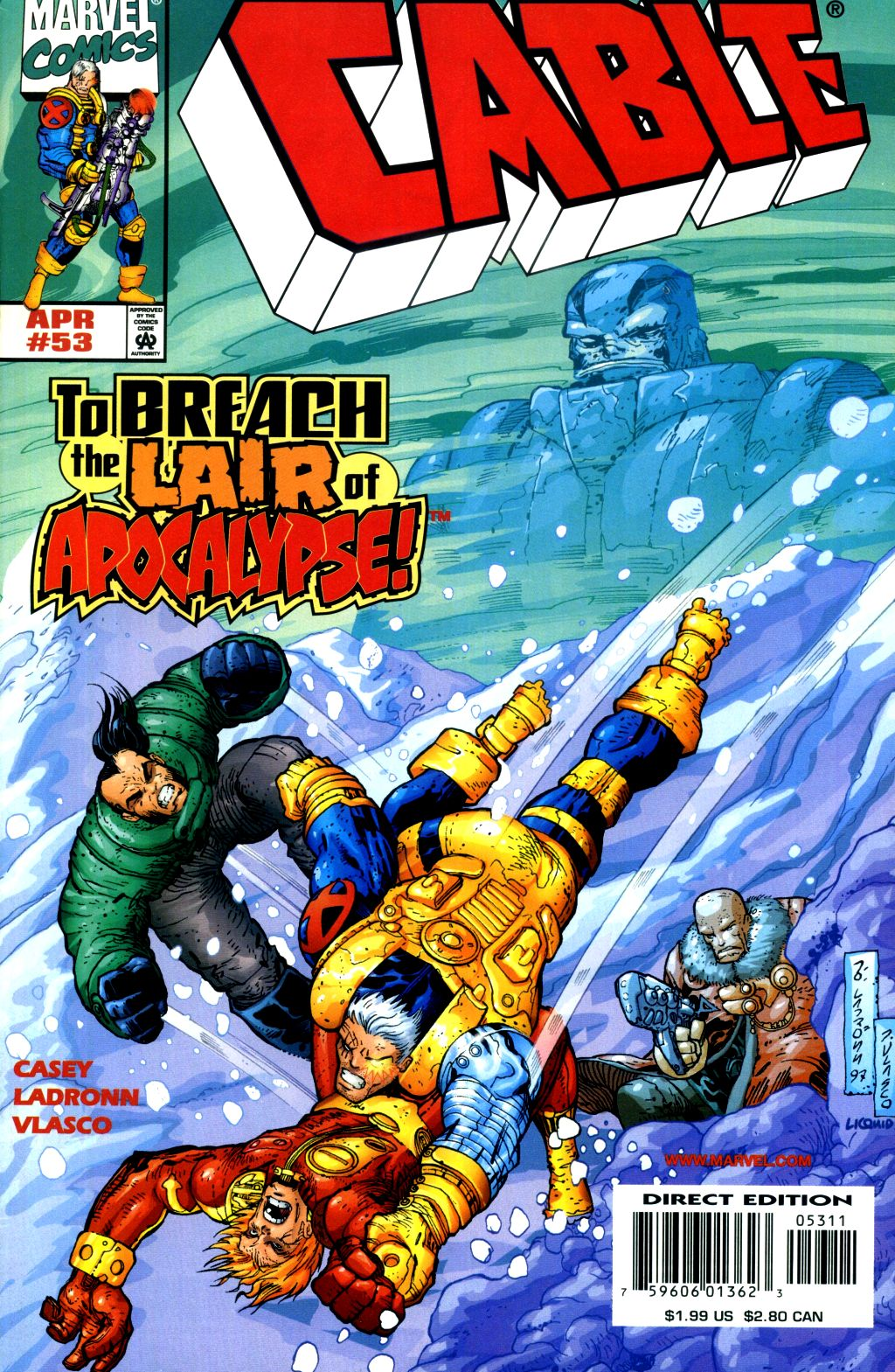 Cable (1993) 53 Page 1