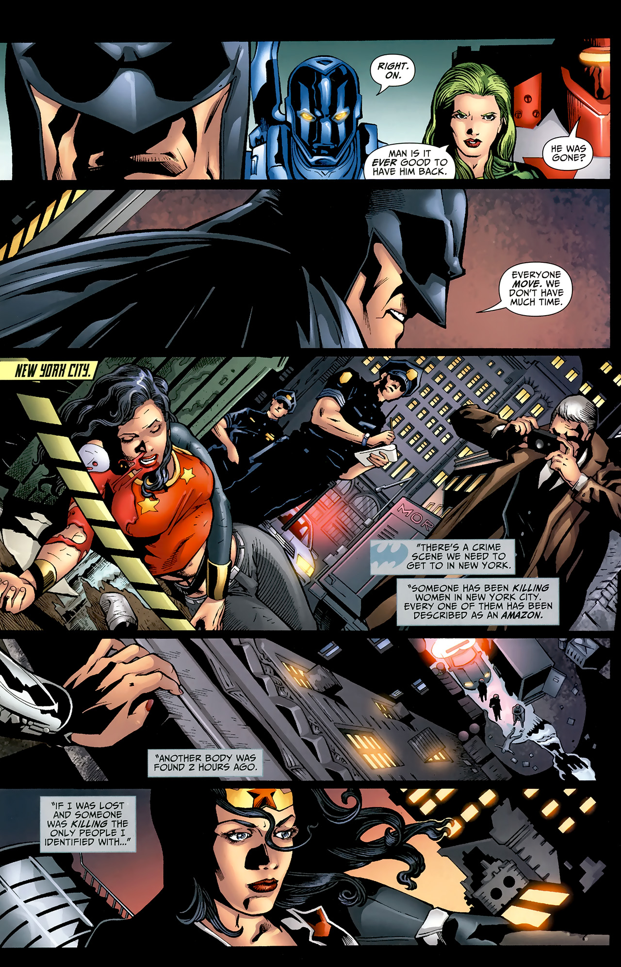 Read online Justice League: Generation Lost comic -  Issue #22 - 15