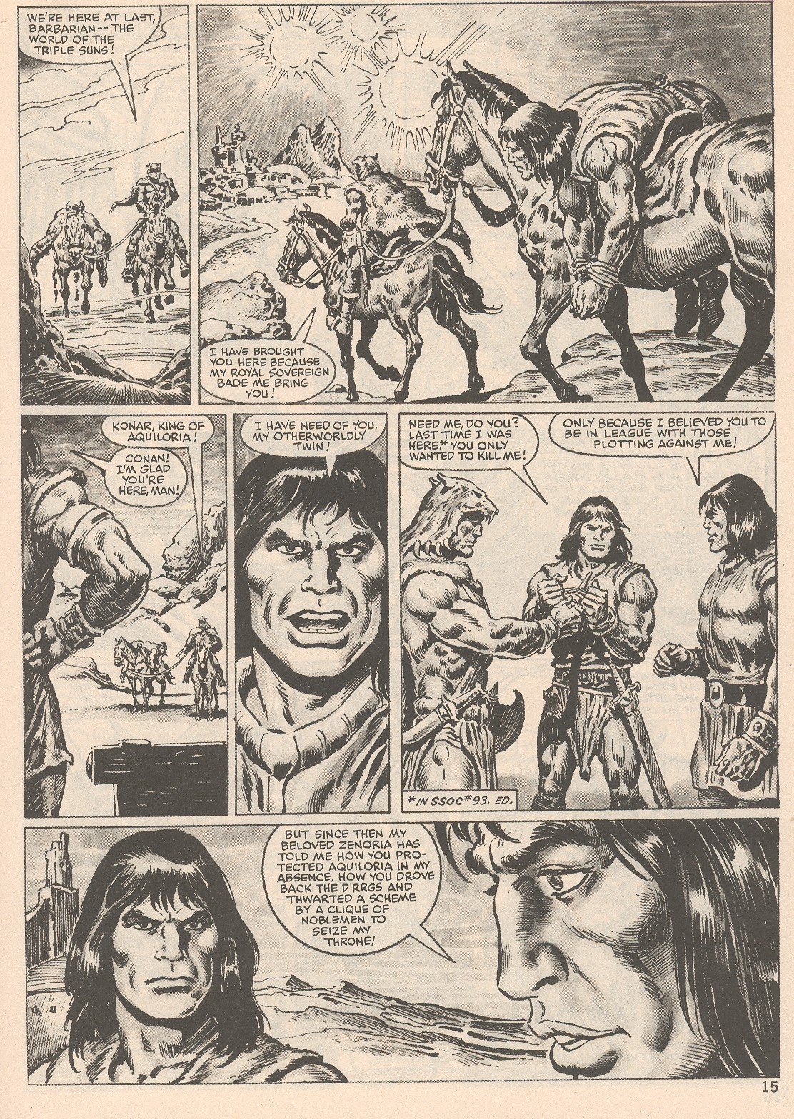 The Savage Sword Of Conan Issue #104 #105 - English 15