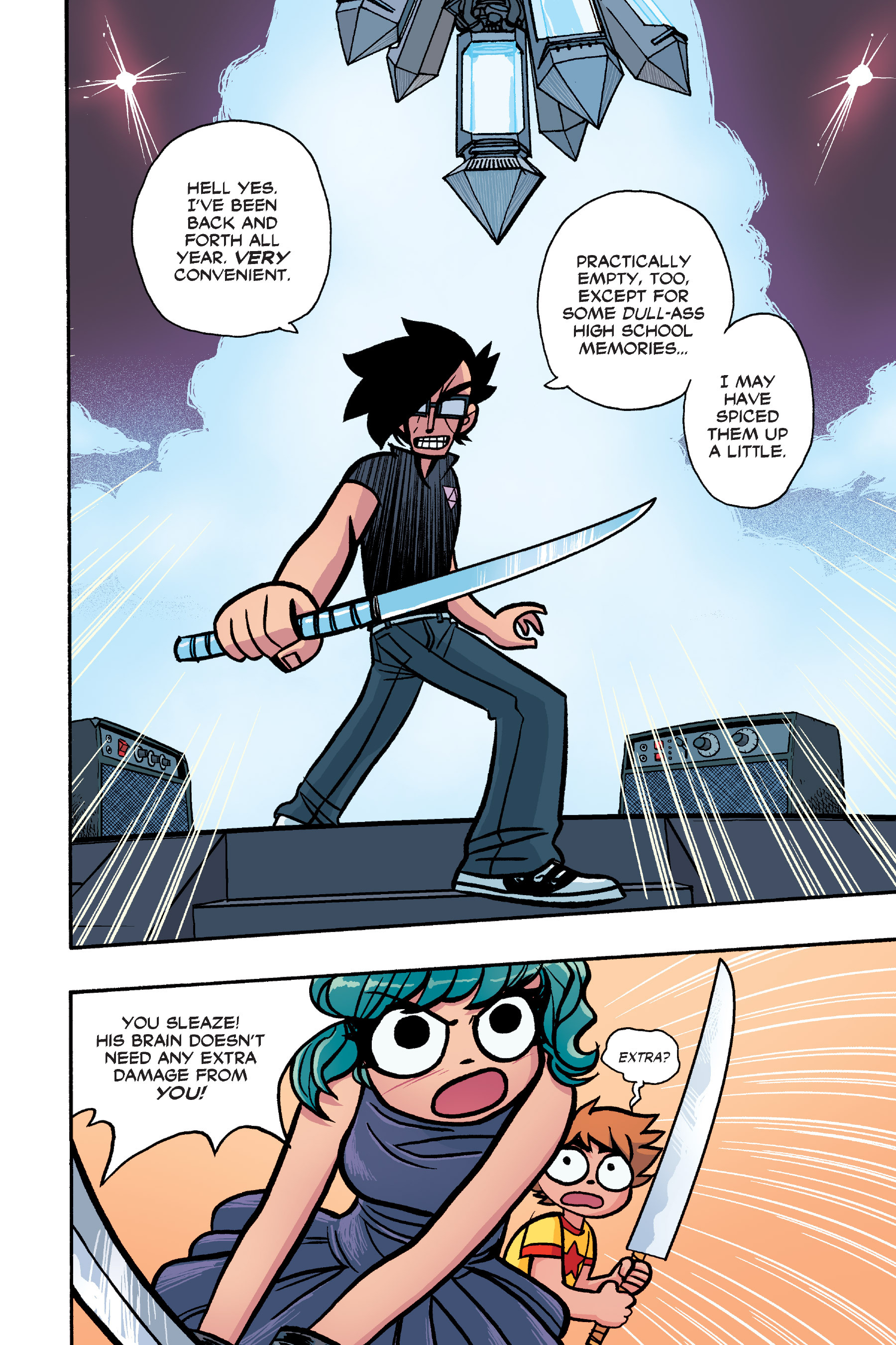 Read online Scott Pilgrim comic -  Issue #6 - 203