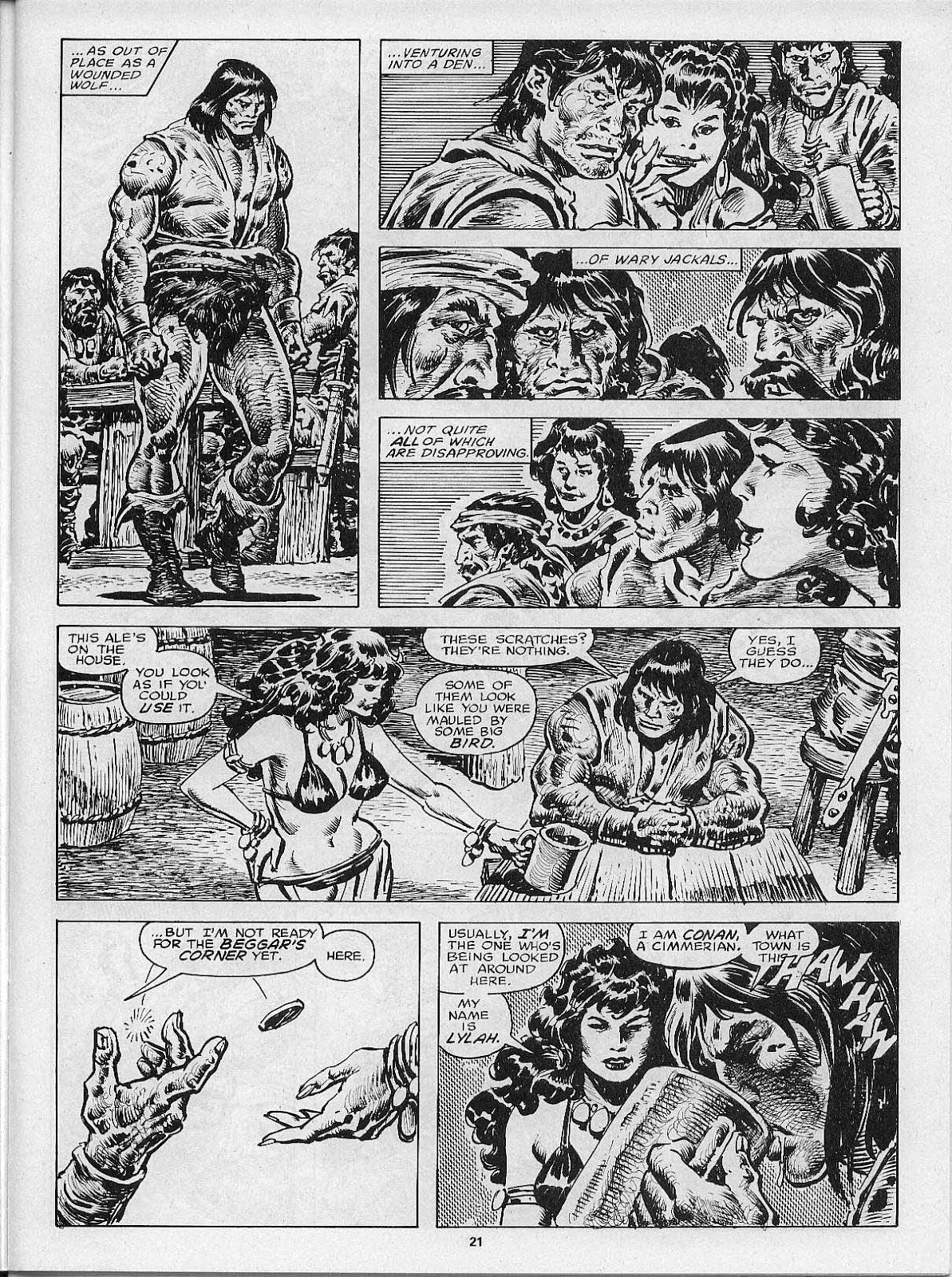 The Savage Sword Of Conan Issue #200 #201 - English 23