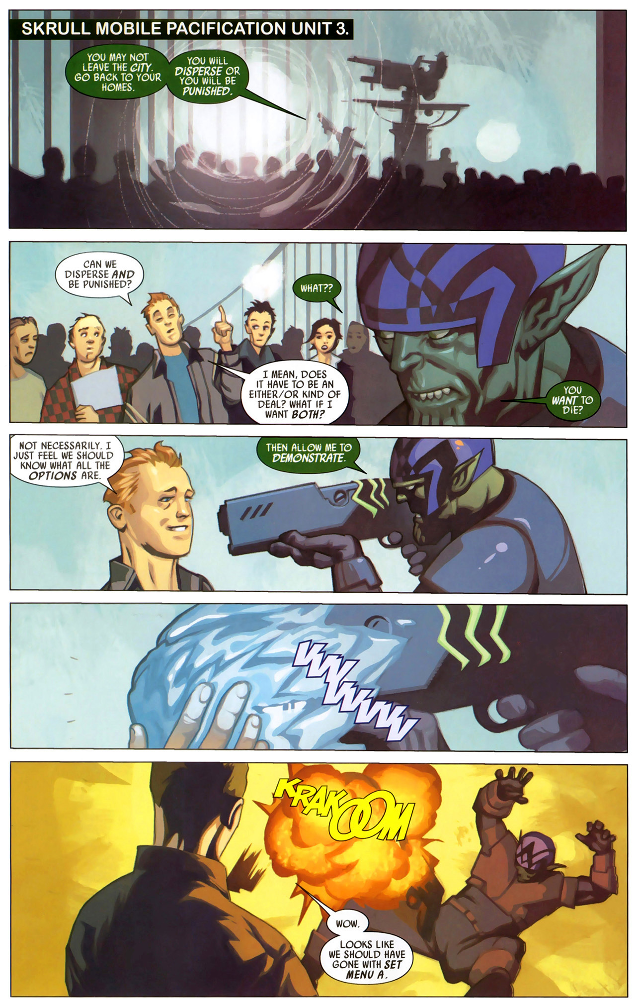 Read online Secret Invasion: X-Men comic -  Issue #2 - 12