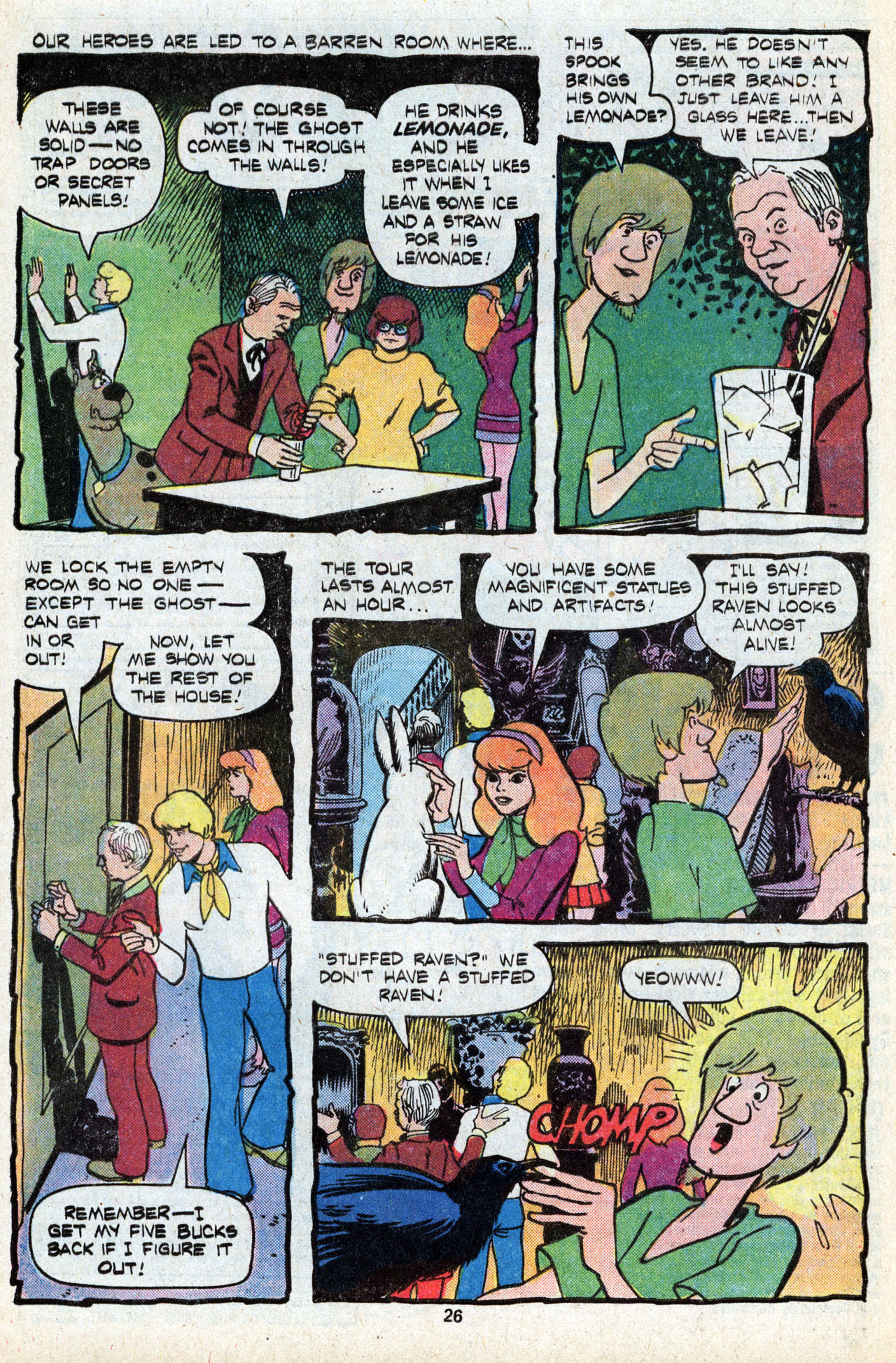 Read online Scooby-Doo (1977) comic -  Issue #5 - 28