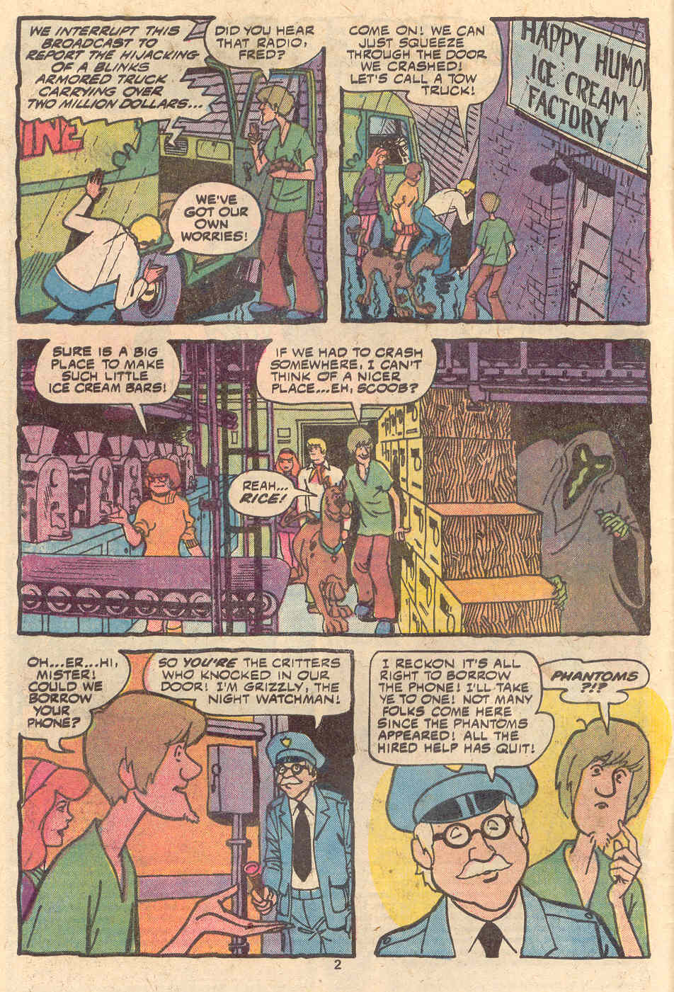 Read online Scooby-Doo (1977) comic -  Issue #1 - 3