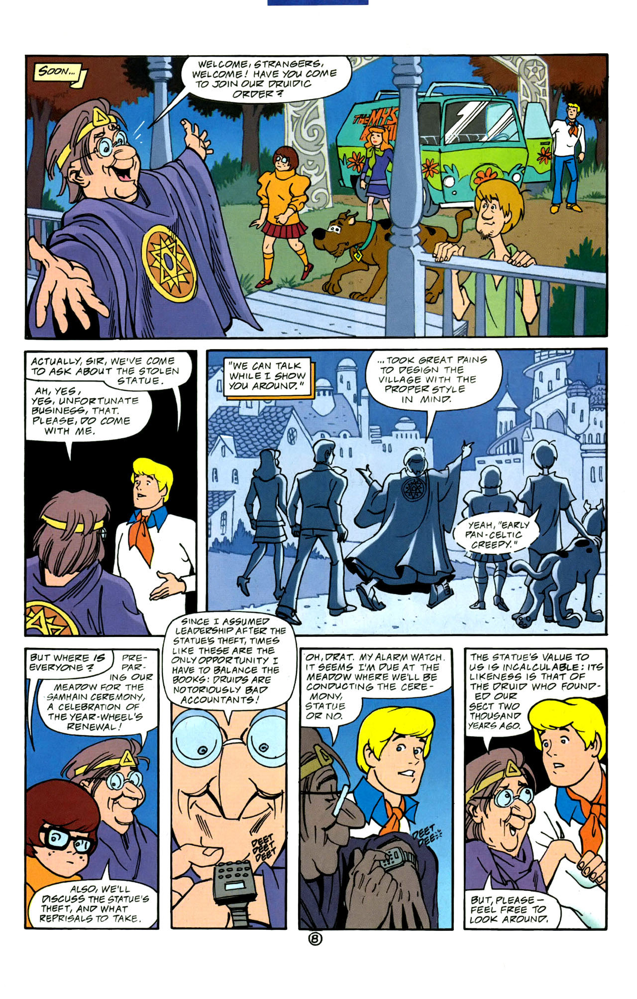 Read online Scooby-Doo (1997) comic -  Issue #4 - 9