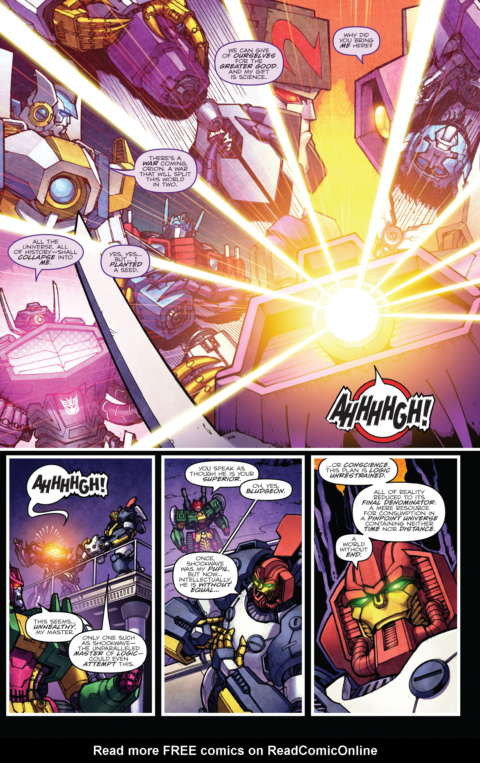 Read online The Transformers: Dark Cybertron Finale comic -  Issue # Full - 107