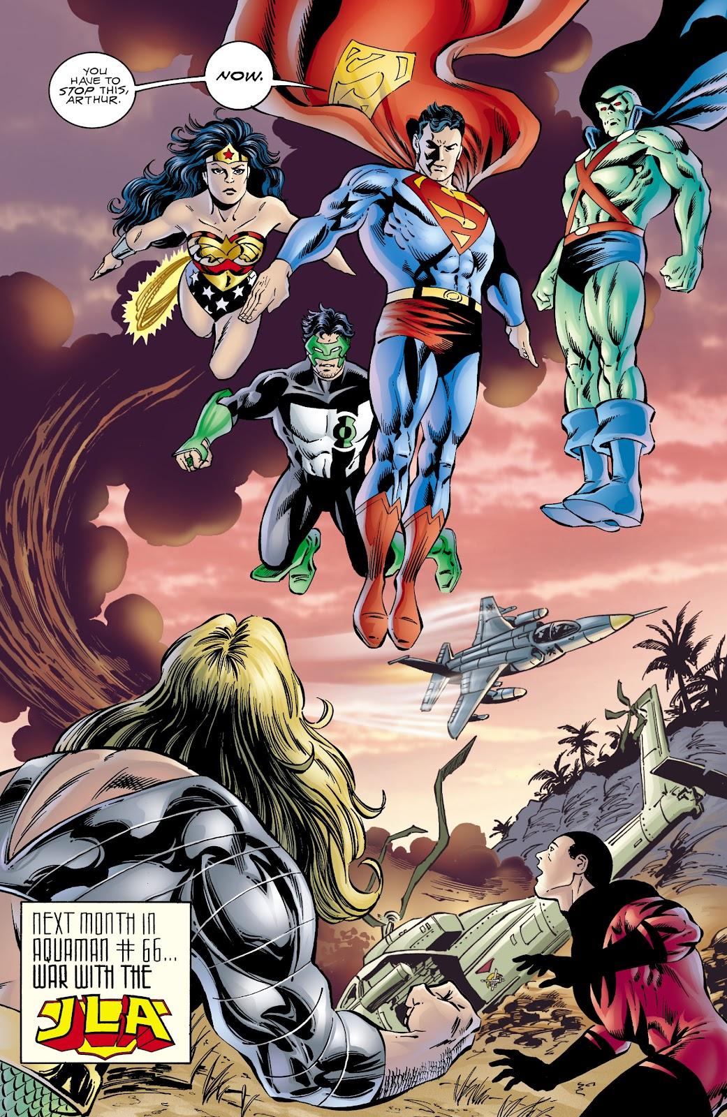 Aquaman (1994) Issue #65 #71 - English 21