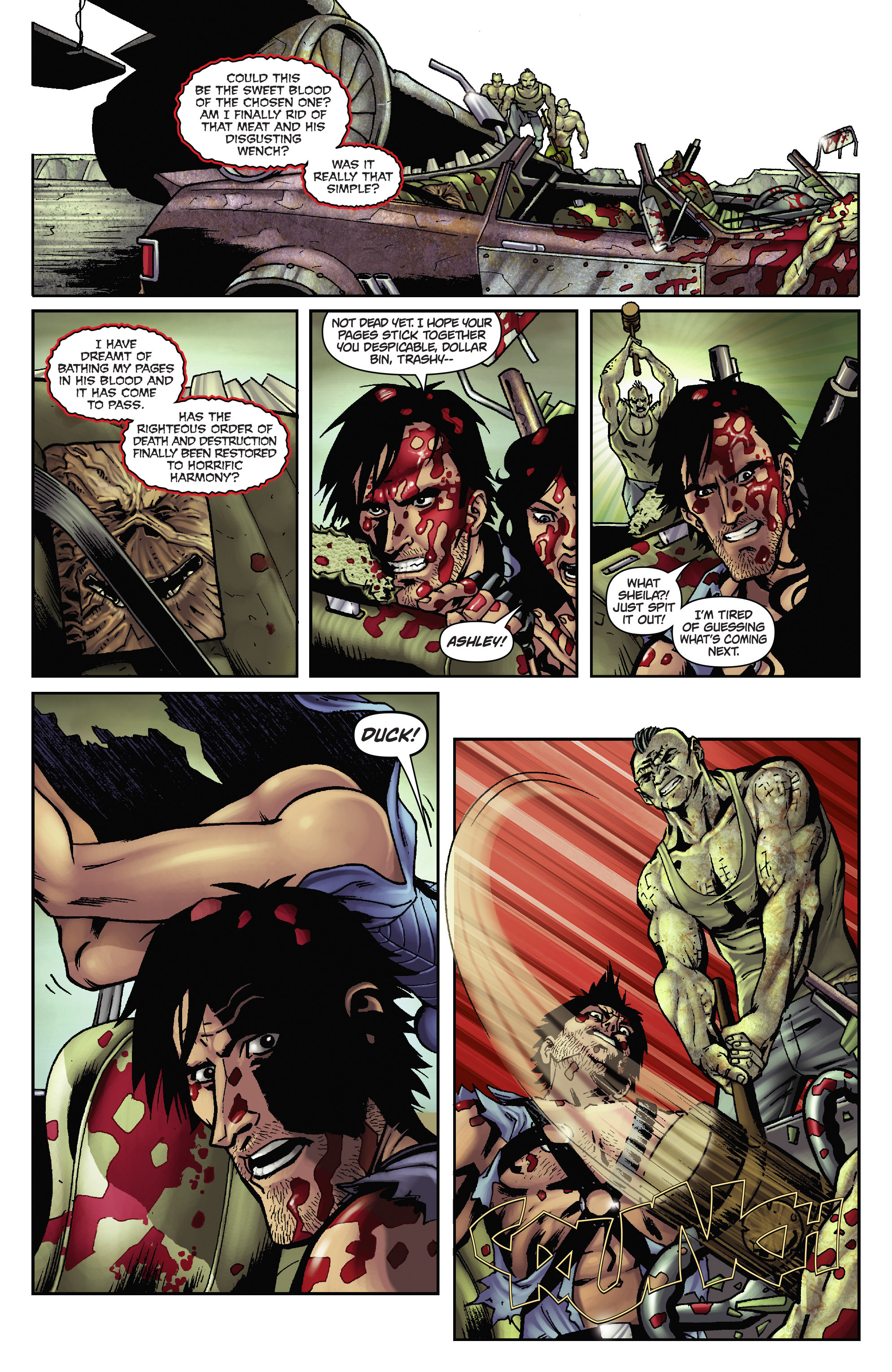 Army of Darkness: The Long Road Home TPB Page 34