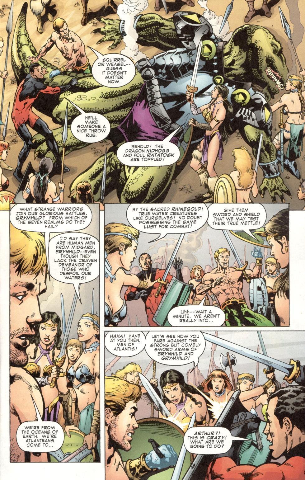 Aquaman (2003) Issue #7 #7 - English 7