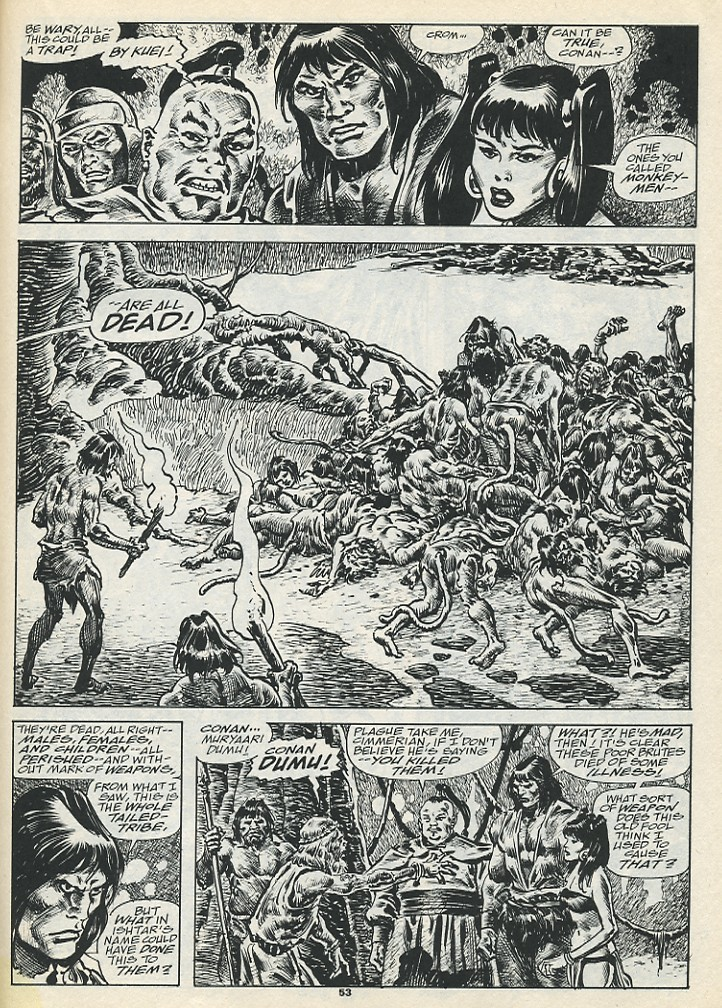 The Savage Sword Of Conan Issue #193 #194 - English 55