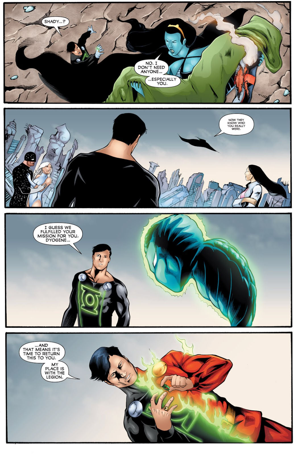 Legion of Super-Heroes (2010) Issue #16 #17 - English 17