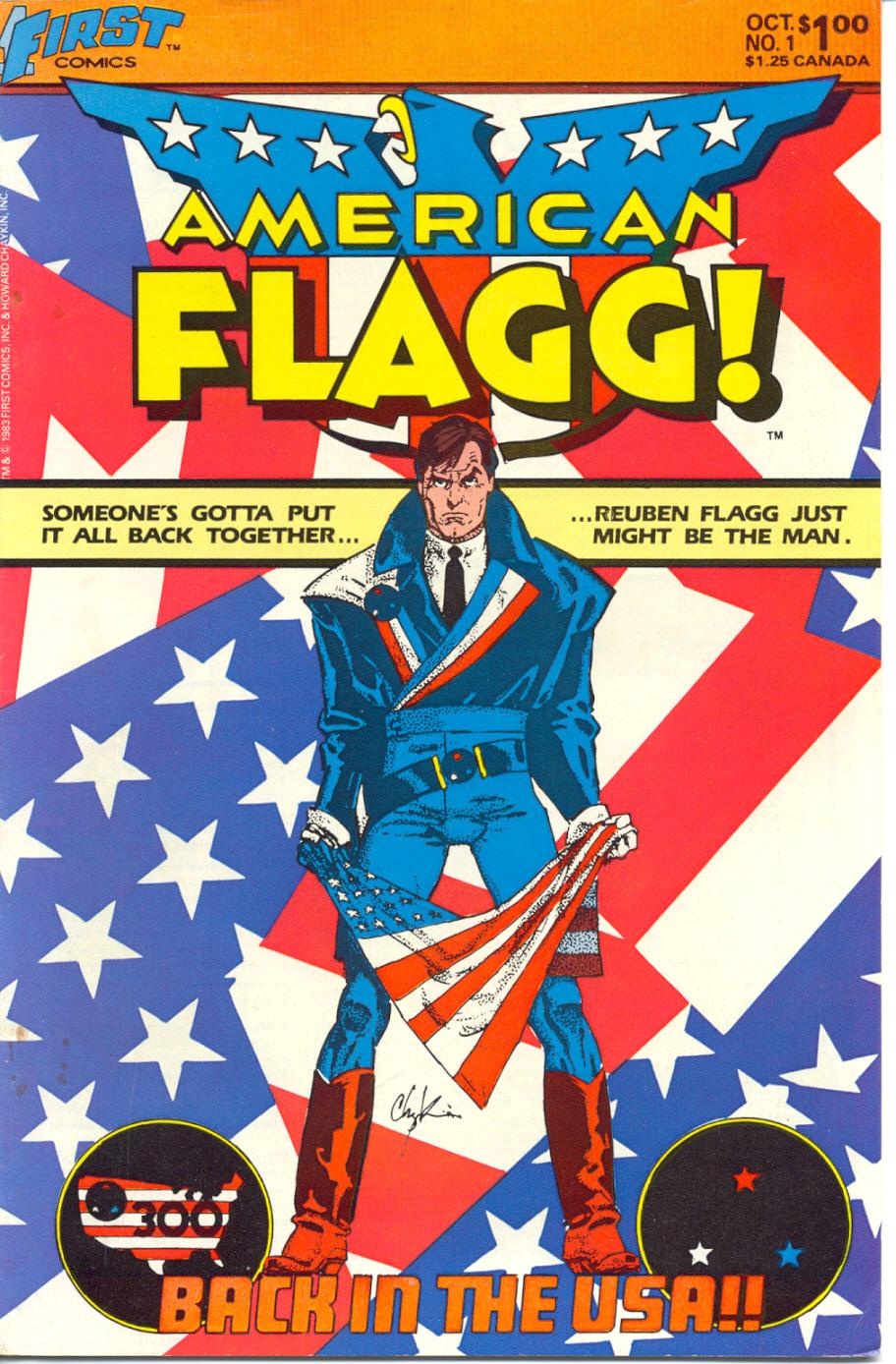 American Flagg! 1 Page 1