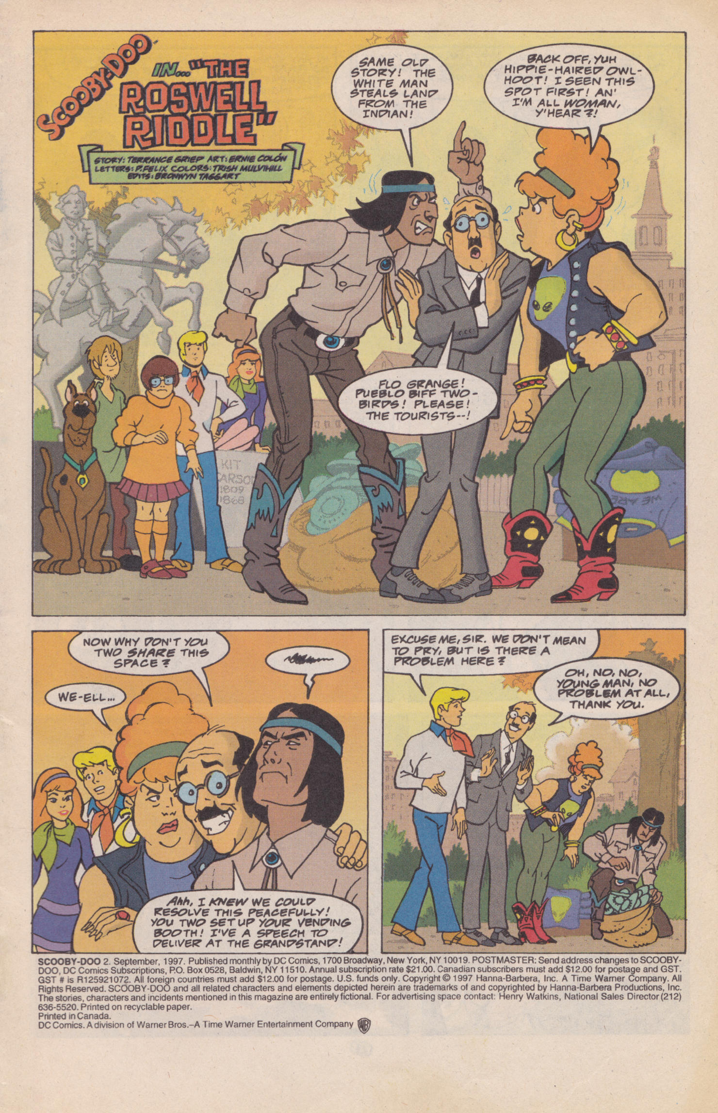 Read online Scooby-Doo (1997) comic -  Issue #2 - 2