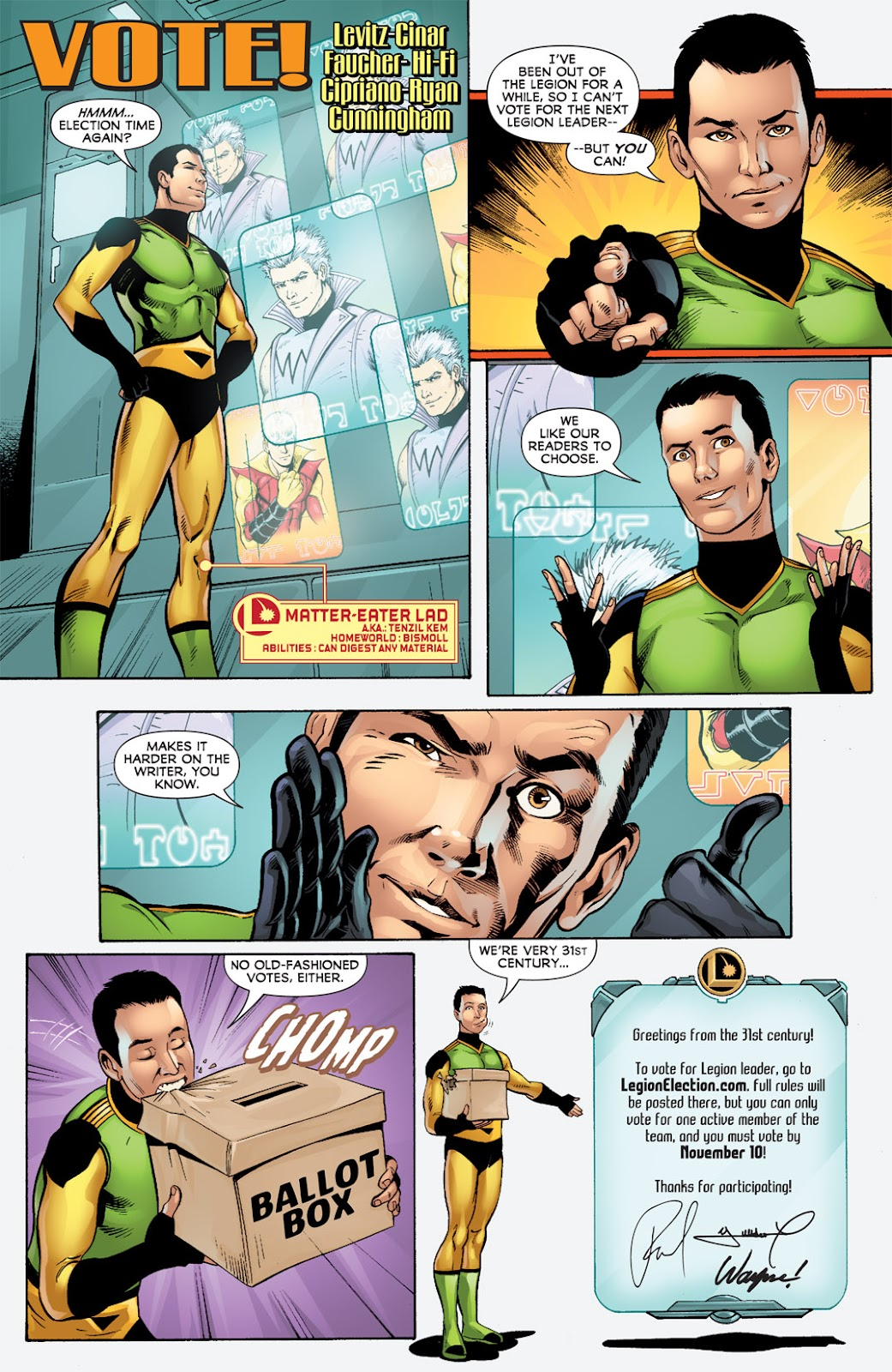 Legion of Super-Heroes (2010) Issue #6 #7 - English 32