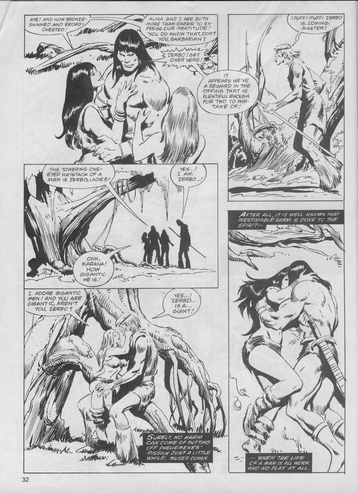The Savage Sword Of Conan Issue #61 #62 - English 32