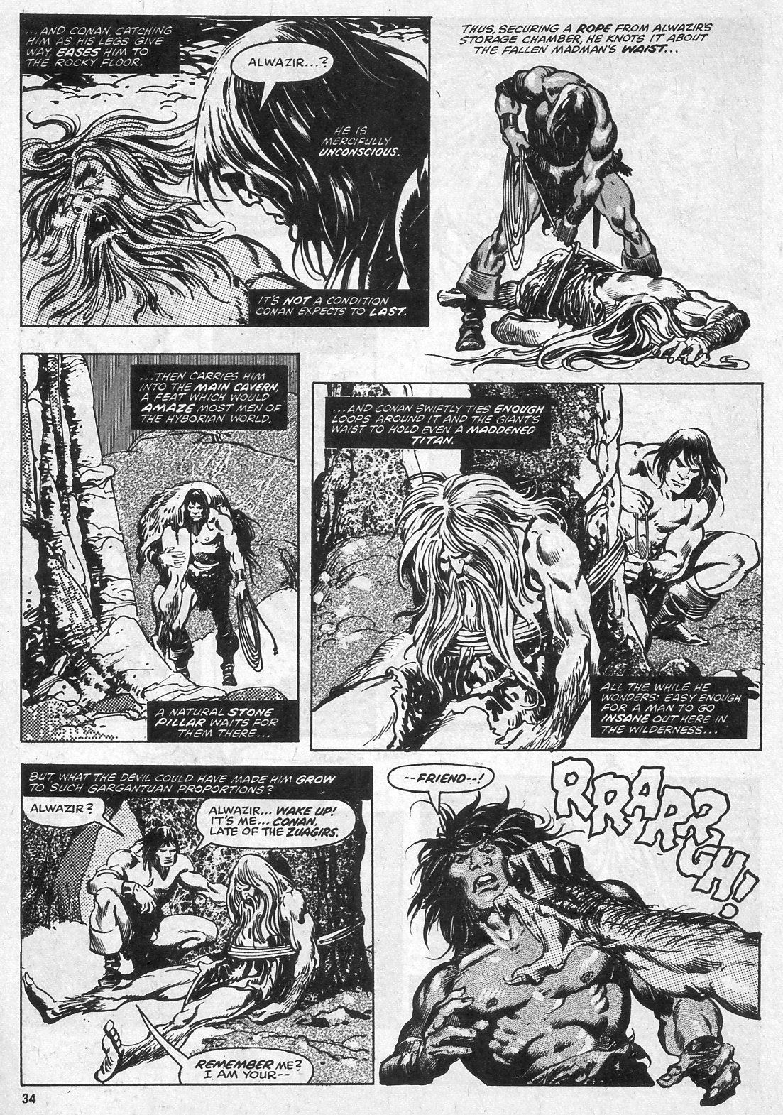 The Savage Sword Of Conan Issue #28 #29 - English 34